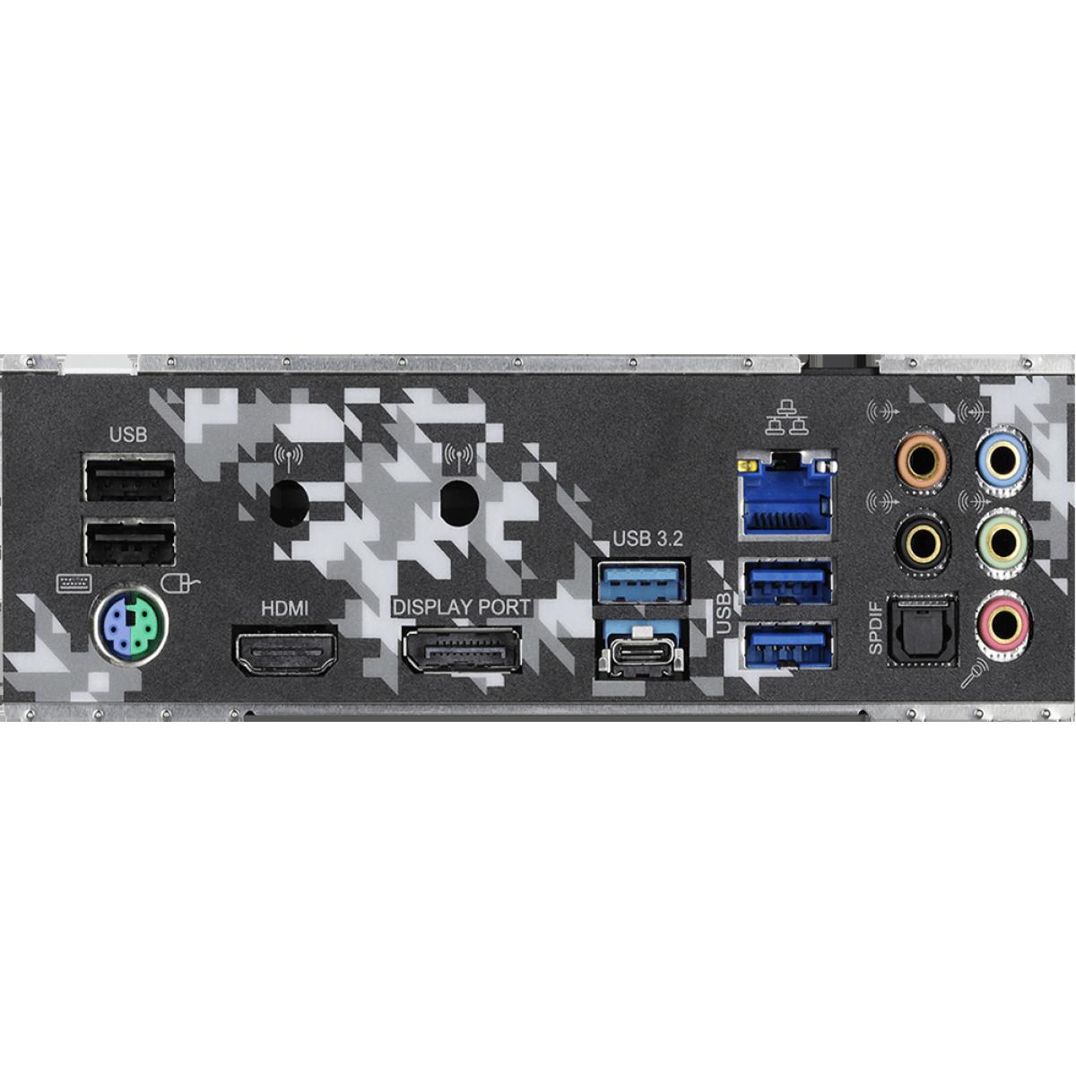 Placa Mãe AsRock Z490 Steel Legend, Chipset Z490, Intel LGA1200, ATX, DDR4