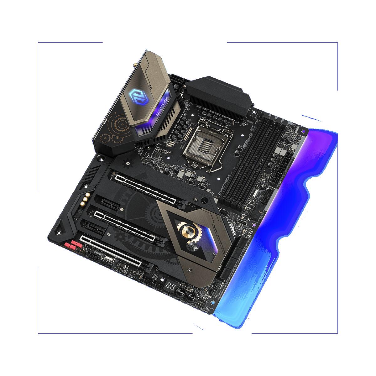 Placa Mãe ASRock Z490 TAICHI, Chipset Z490, LGA1200, ATX, DDR4, 90-MXBBQ0-A0UAYZ