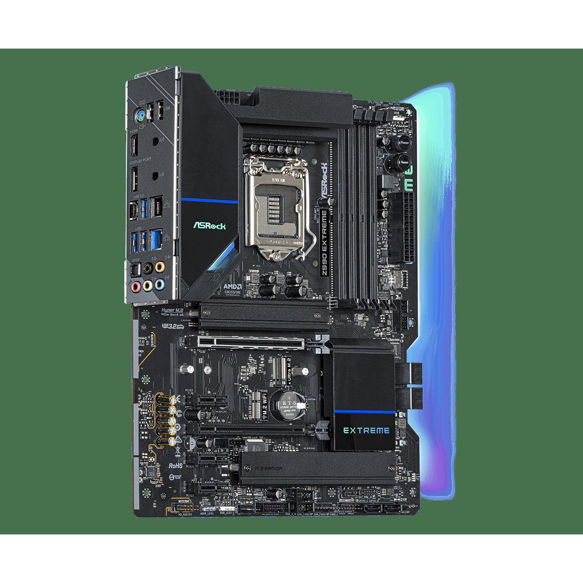 Placa Mãe ASRock Z590 Extreme, Chipset Intel Z590, Socket 1200, ATX, DDR4