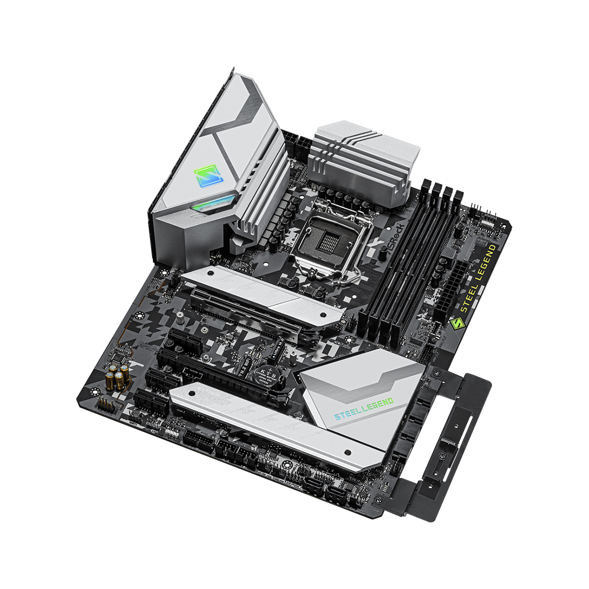 Placa Mãe ASRock Z590 Steel Legend, Chipset Intel Z590, Socket Intel 1200, ATX, DDR4