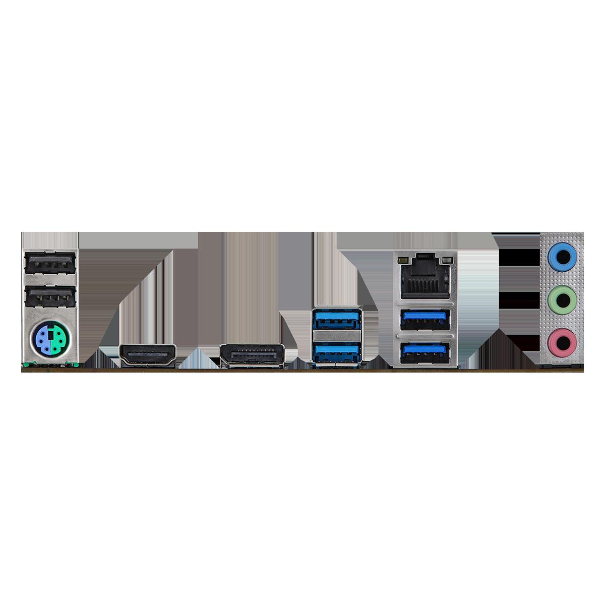 Placa Mãe ASRock Z590M Pro4, Chipset Intel Z590, Socket 1200, mATX, DDR4