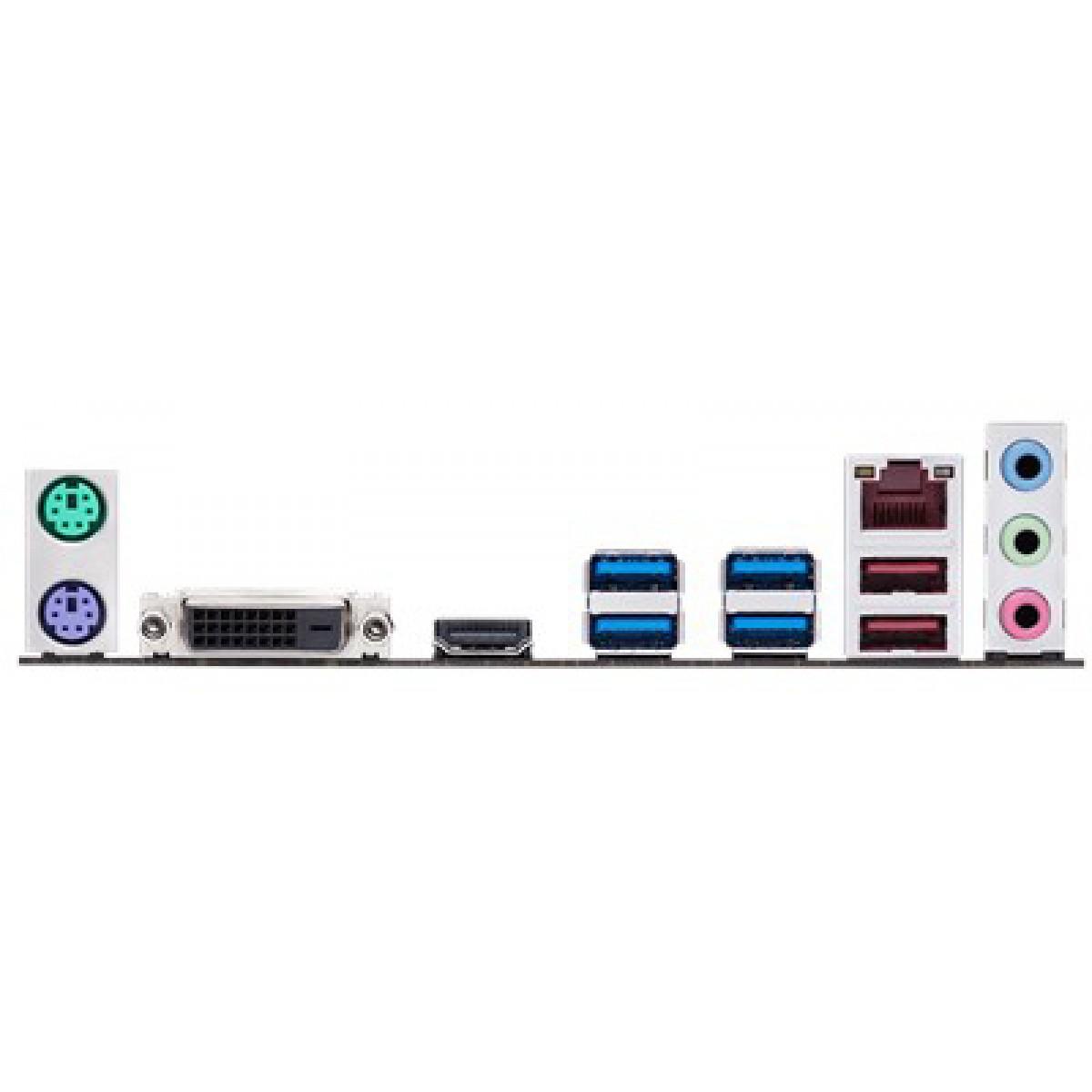 Placa Mãe Asus Ex-A320M-Gaming, Chipset A320, AMD AM4, ATX, DDR4