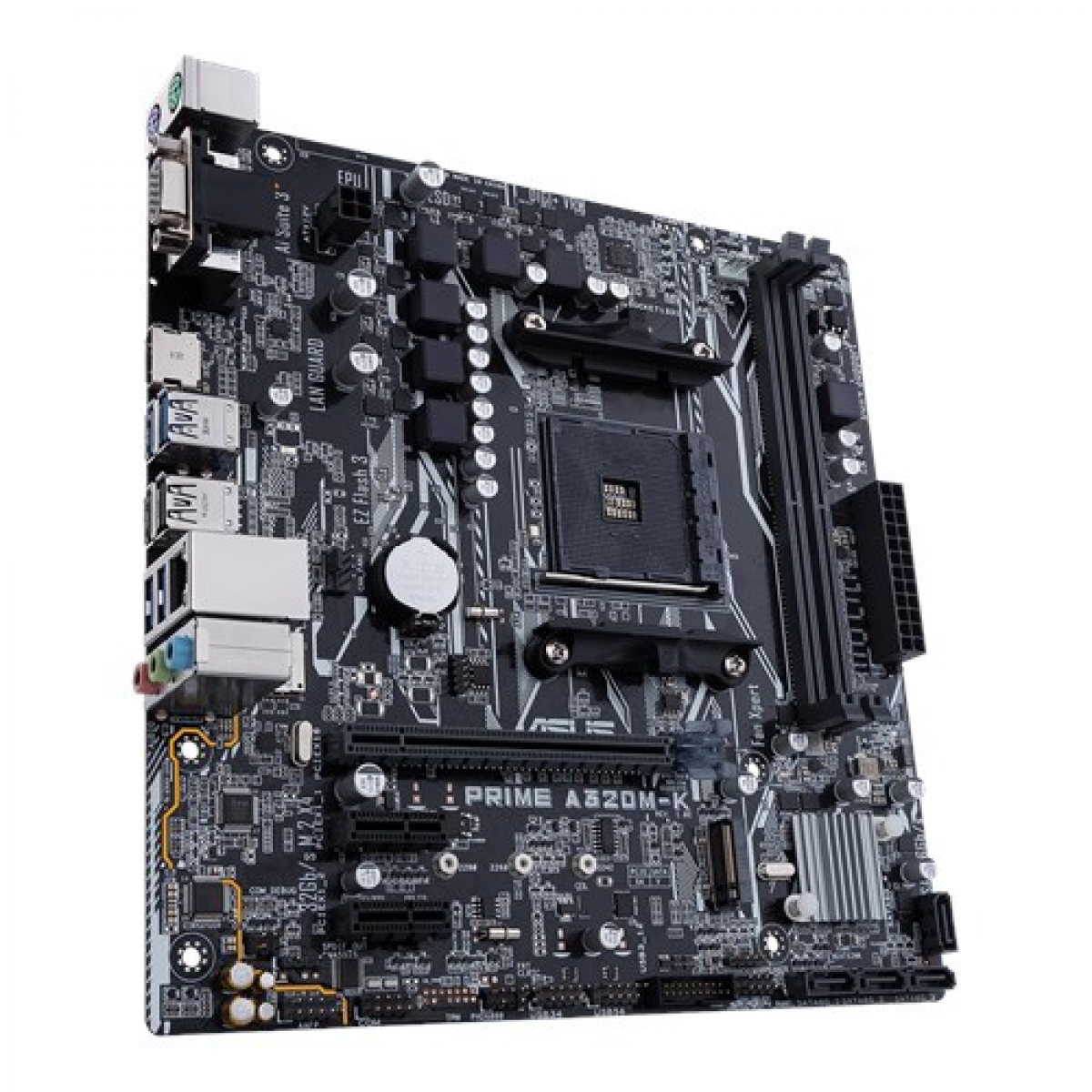 Placa Mãe Asus Prime A320M-K, Chipset A320, AMD AM4, mATX, DDR4
