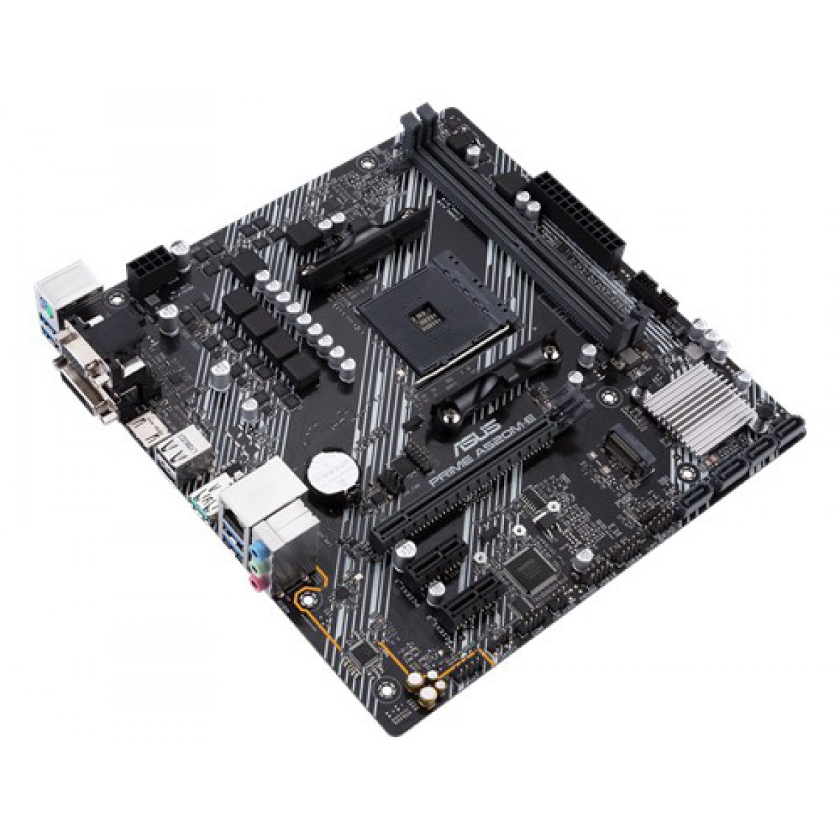 Placa Mãe Asus Prime A520M-E, Chipset A520, AMD AM4, mATX, DDR4