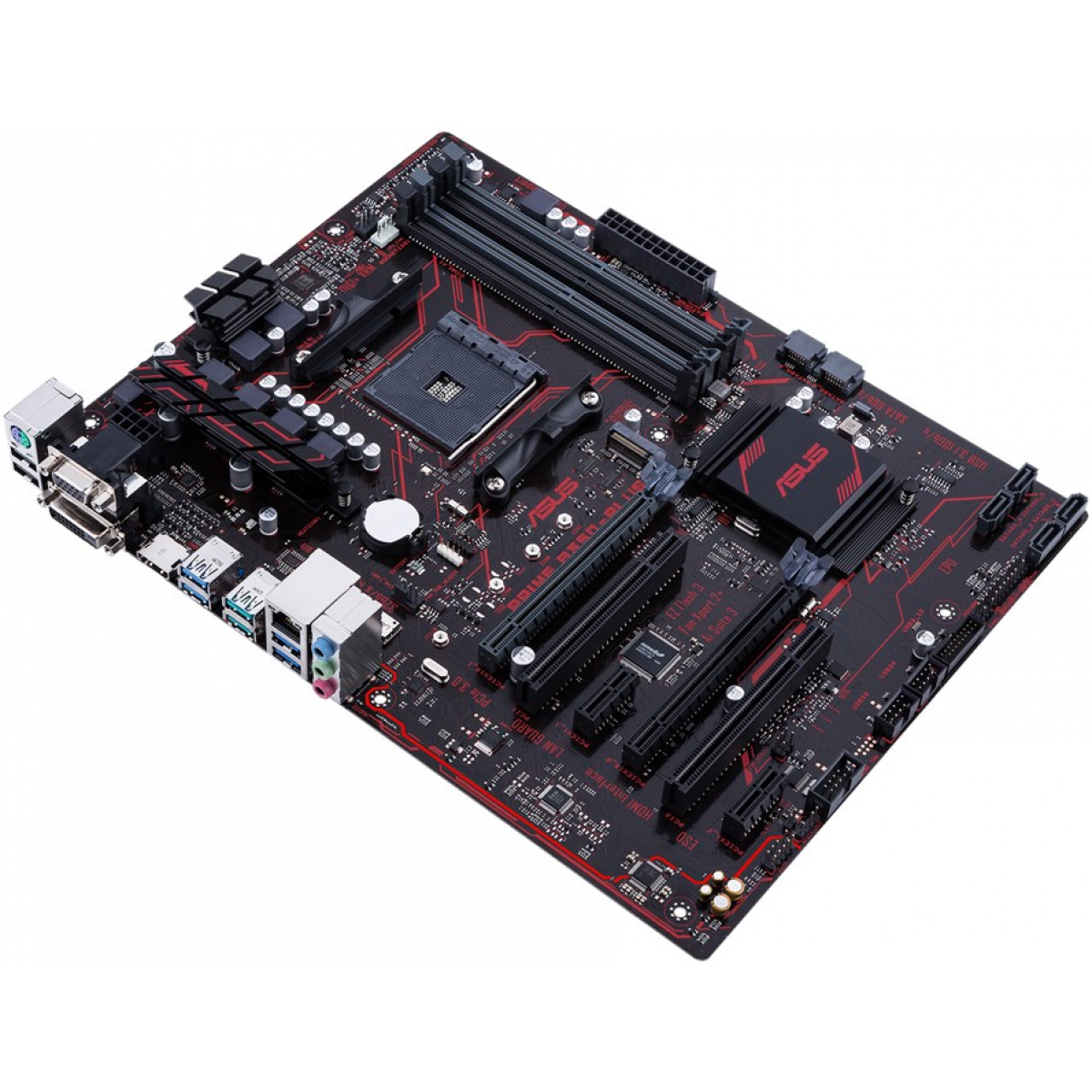 Placa Mãe Asus Prime B350-Plus, Chipset B350, AMD AM4, ATX, DDR4