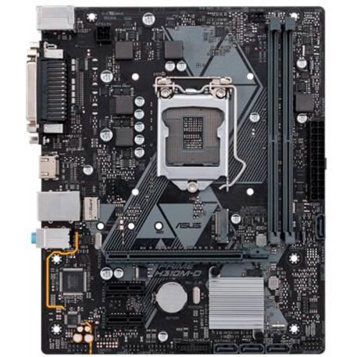 Placa Mãe Asus Prime H310M-D, Chipset H310, Intel LGA 1151, mATX, DDR4