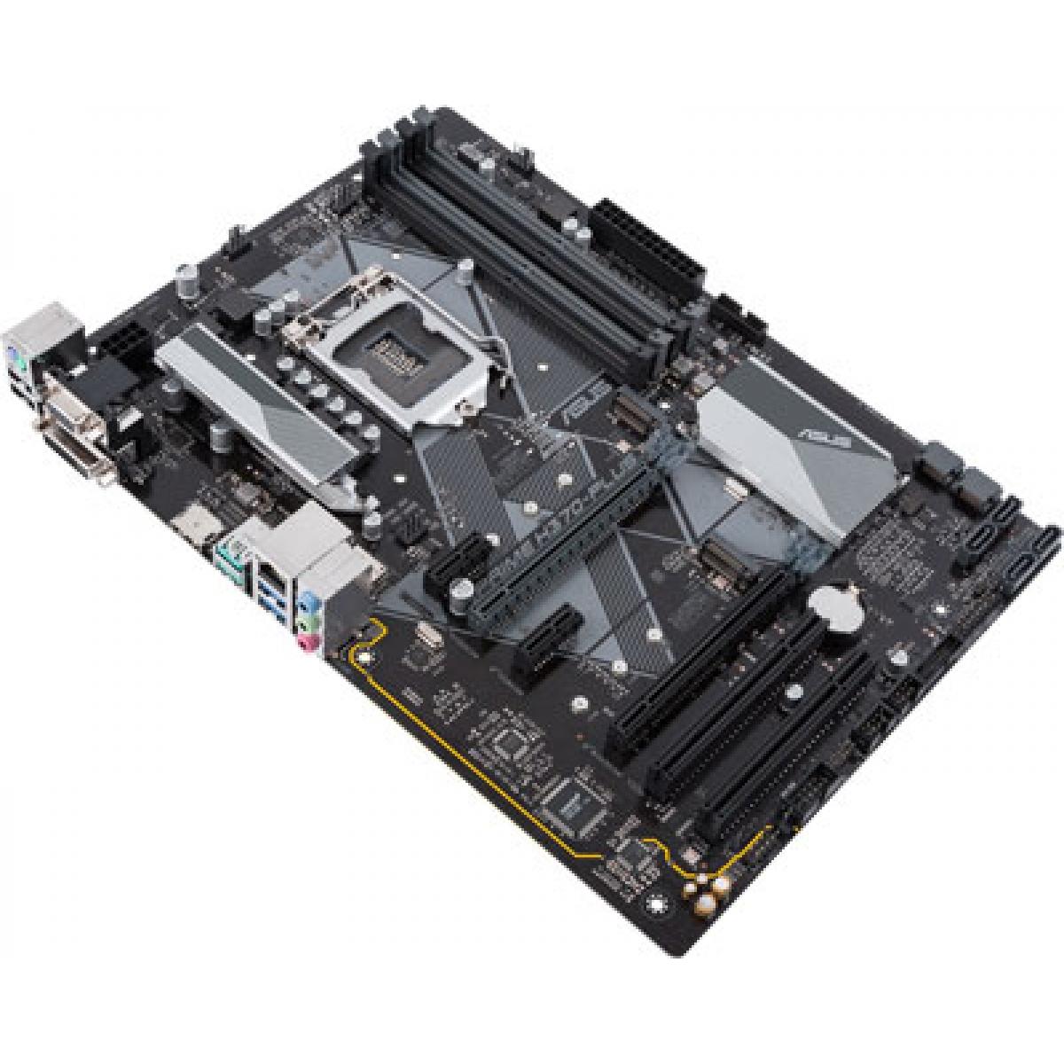 Placa Mãe Asus Prime H370-PLUS, Chipset H370, Intel LGA 1151, ATX, DDR4
