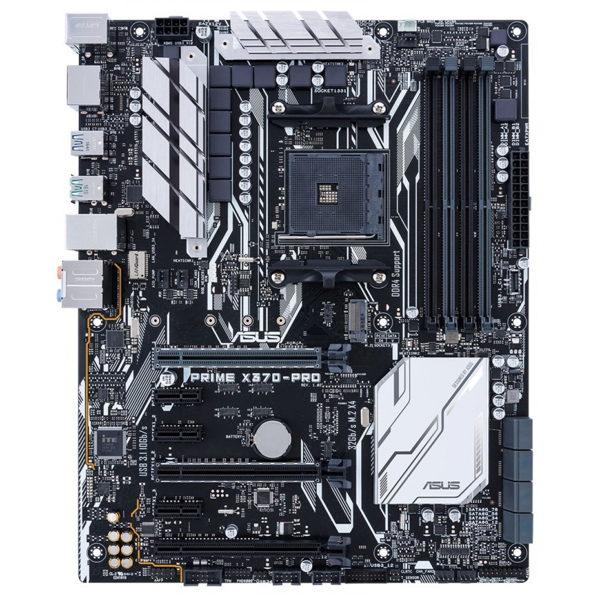 Placa Mãe Asus Prime X370-PRO, Chipset X370, AMD AM4, ATX, DDR4