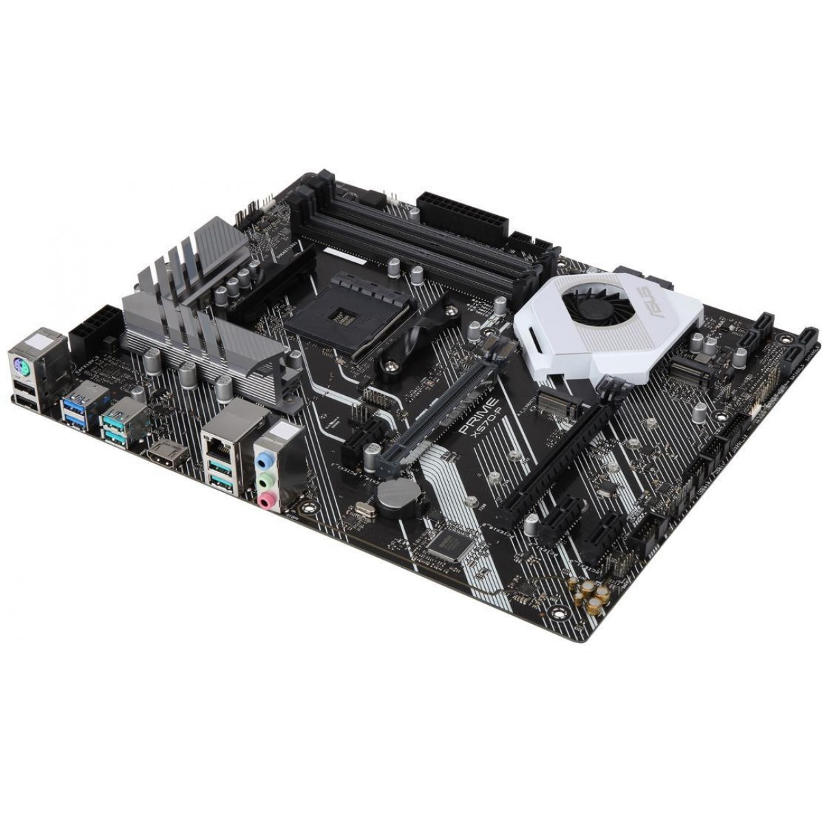 Placa Mãe Asus Prime X570-P, Chipset X570, AMD AM4, ATX, DDR4