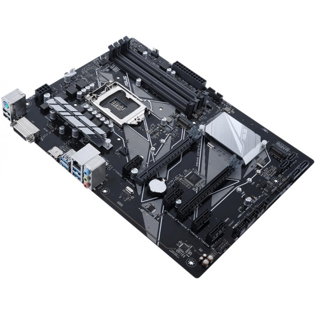Placa Mãe Asus Prime Z370-P, Chipset Z370, Intel LGA 1151, ATX, DDR4