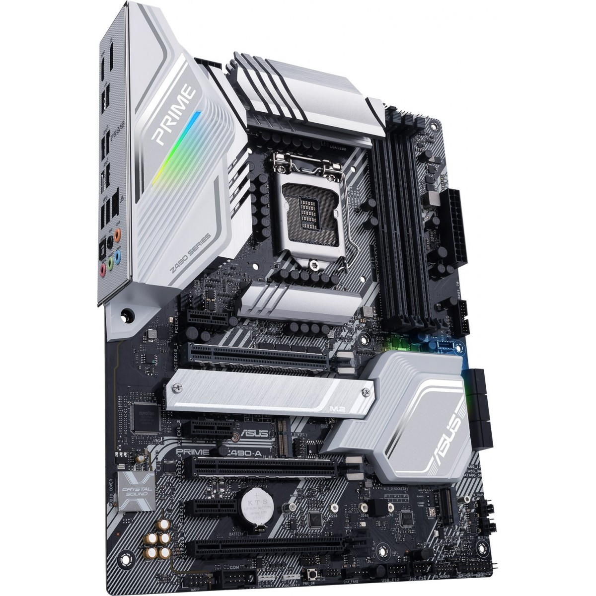 Placa Mãe Asus Prime Z490-A, Chipset Z490, Intel LGA 1200, ATX, DDR4