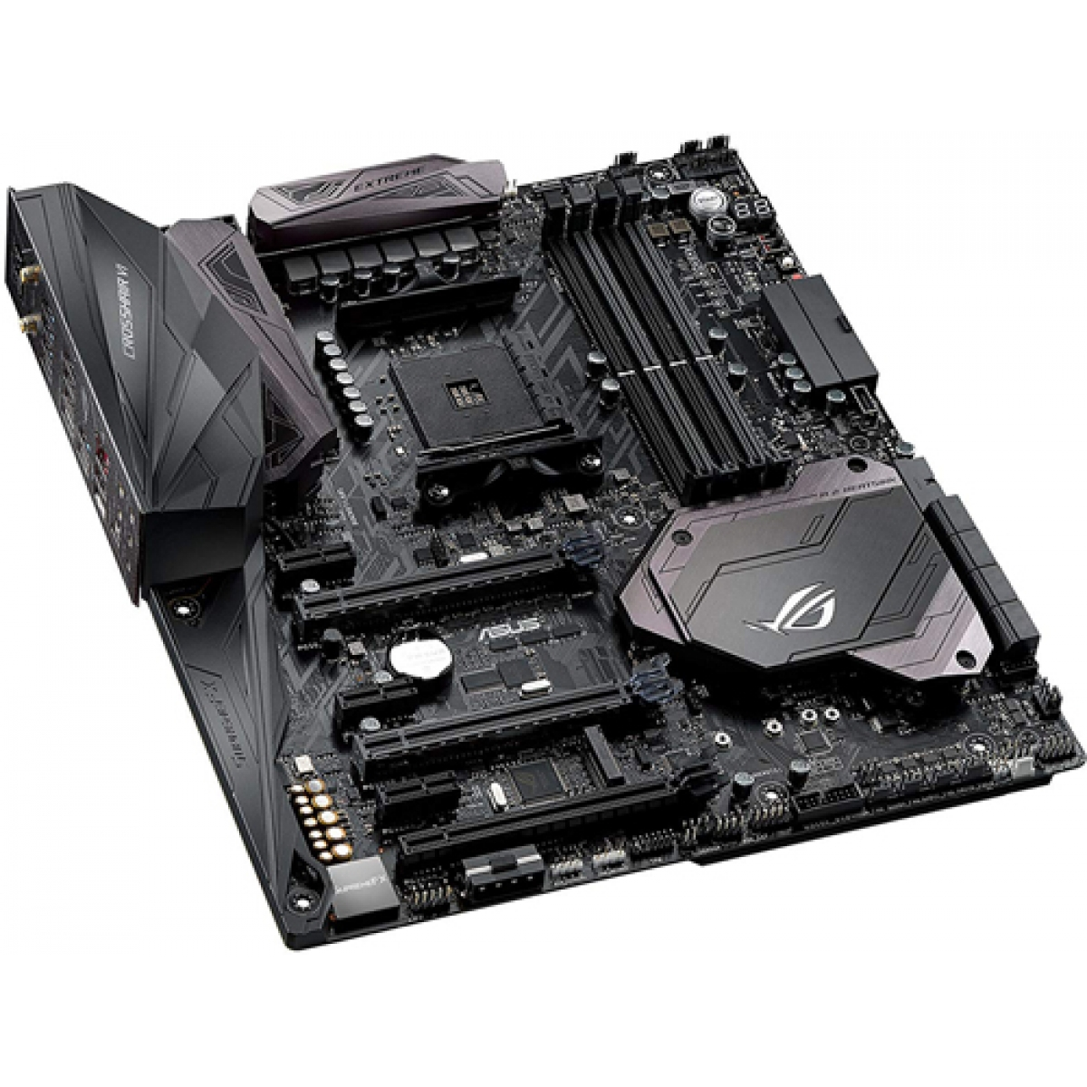 Placa Mãe Asus Rog Crosshair VI Extreme, Chipset X370, AMD AM4, eATX, DDR4