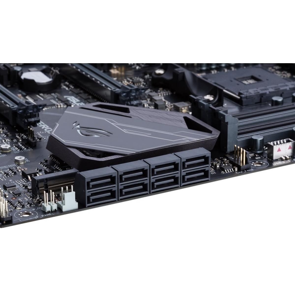 Placa Mãe Asus ROG Crosshair VI Hero, Chipset X370, AMD AM4, ATX, DDR4