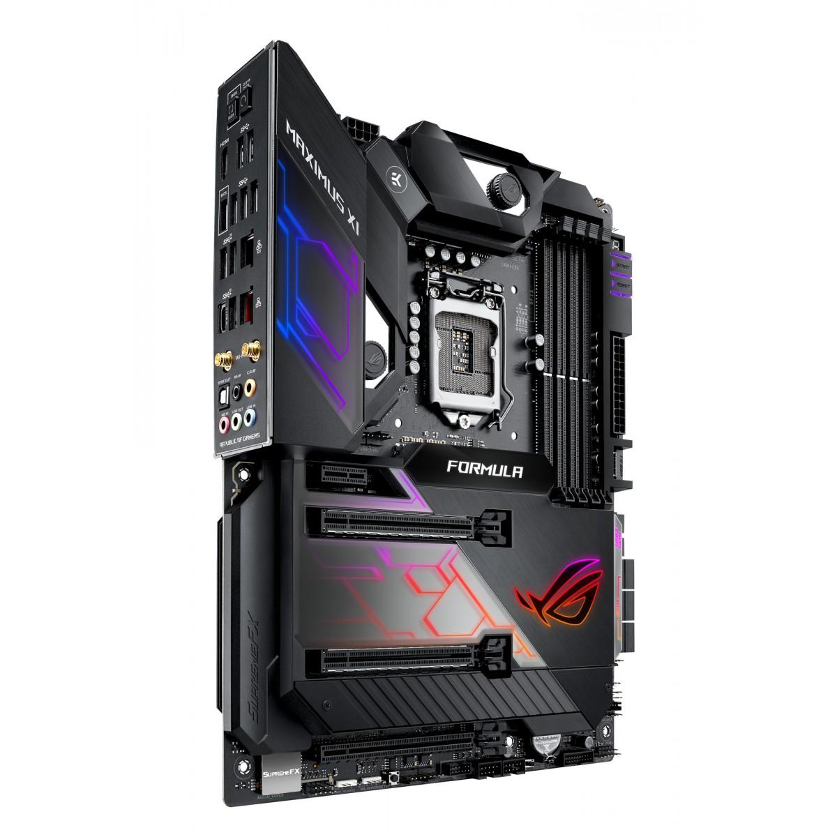 Placa Mãe Asus ROG Maximus XI Formula Chipset Z390, Intel LGA 1151, ATX, DDR4