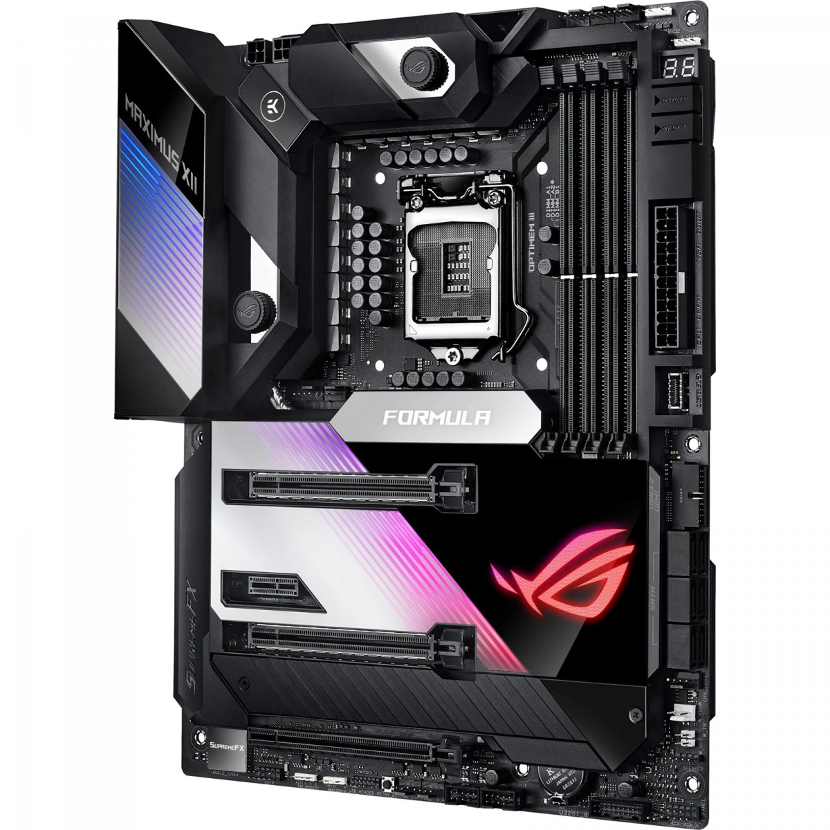 Placa Mãe Asus Rog Maximus XII Formula, Chipset Z490, Wi-Fi, Intel LGA 1200, ATX, DDR4