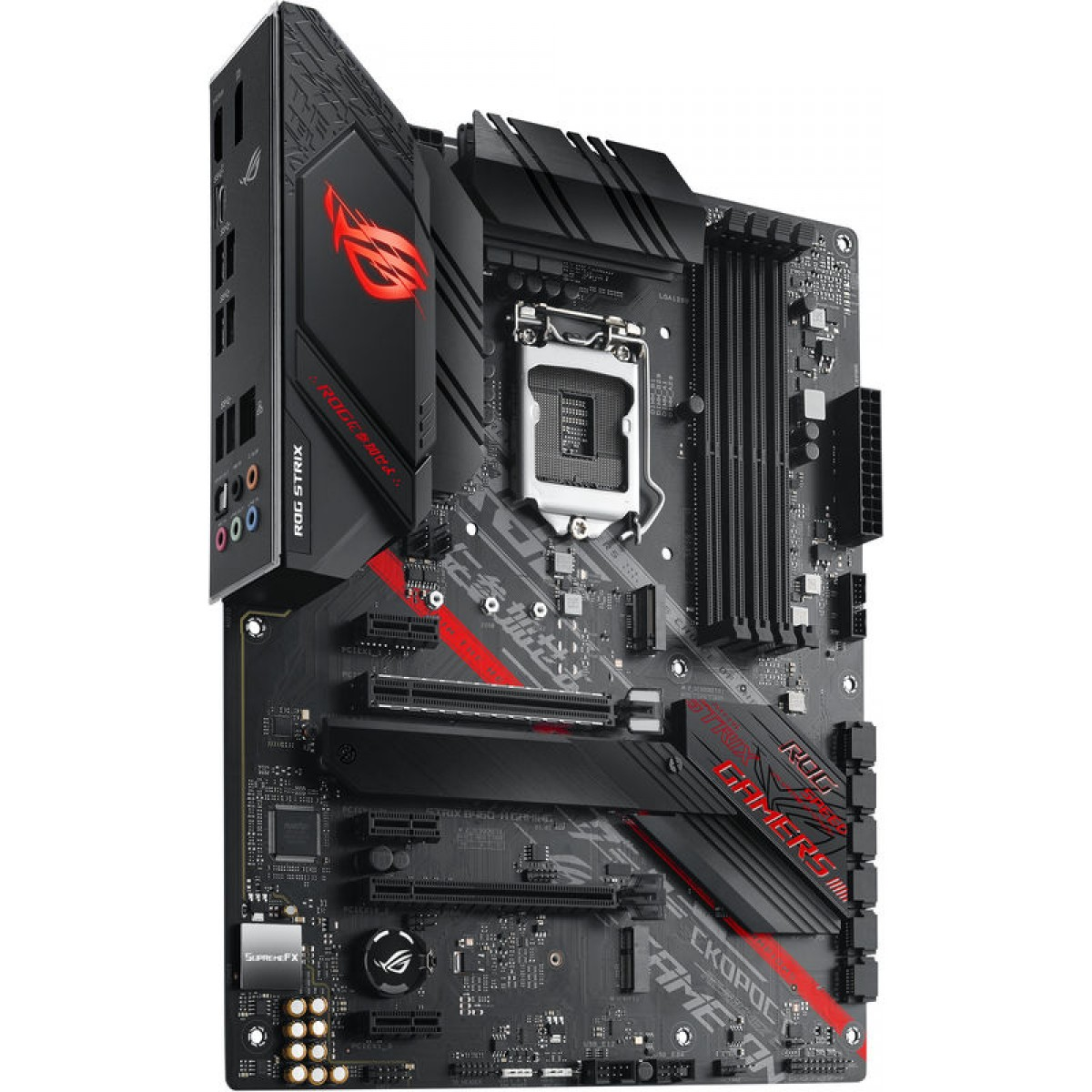 Placa Mãe Asus Rog Strix B460-H Gaming, Chipset B460, Intel LGA 1200, ATX, DDR4