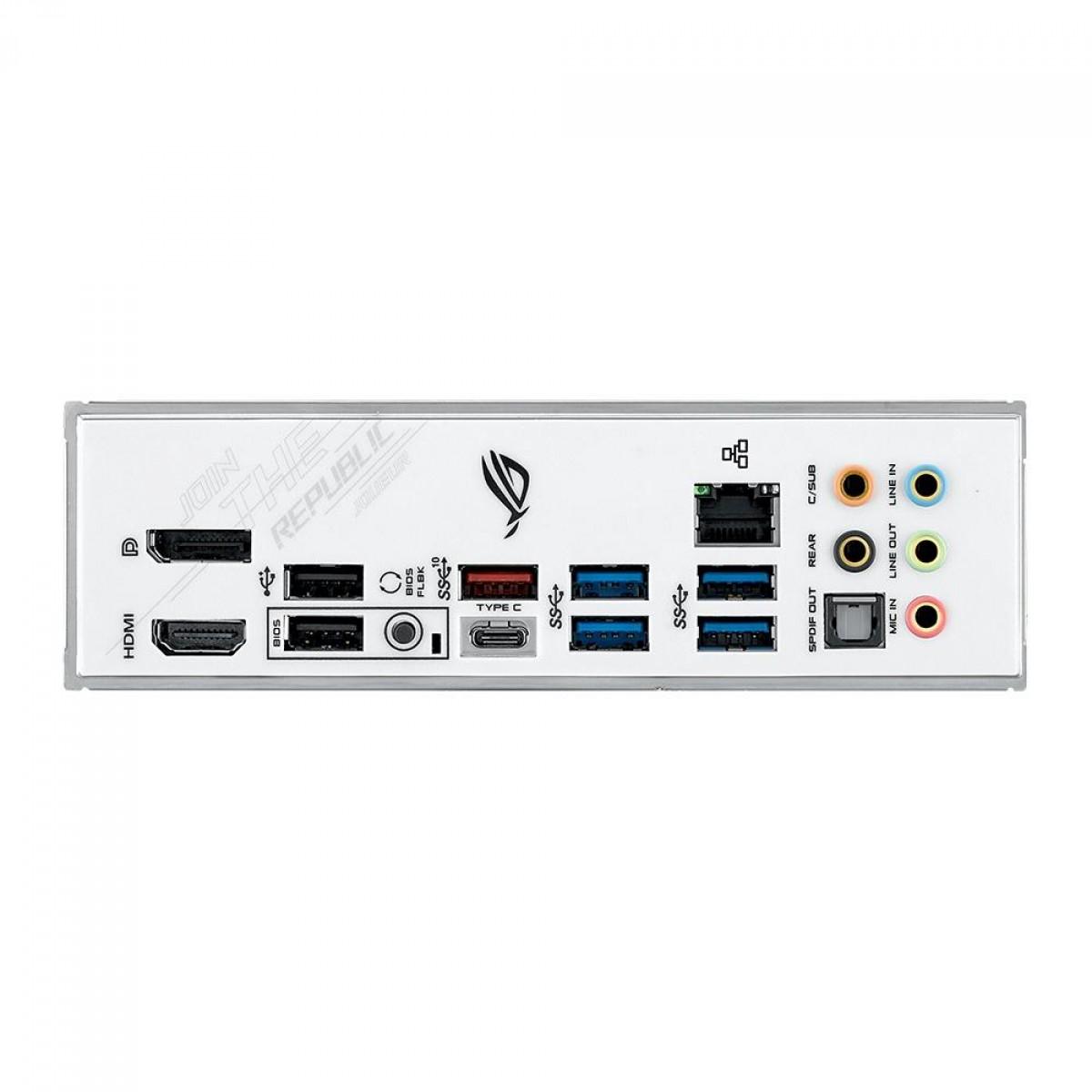 Placa Mãe Asus ROG Strix B550-A Gaming, Chipset B550-A, AMD AM4, ATX, DDR4, 90MB15J0-M0EAY0