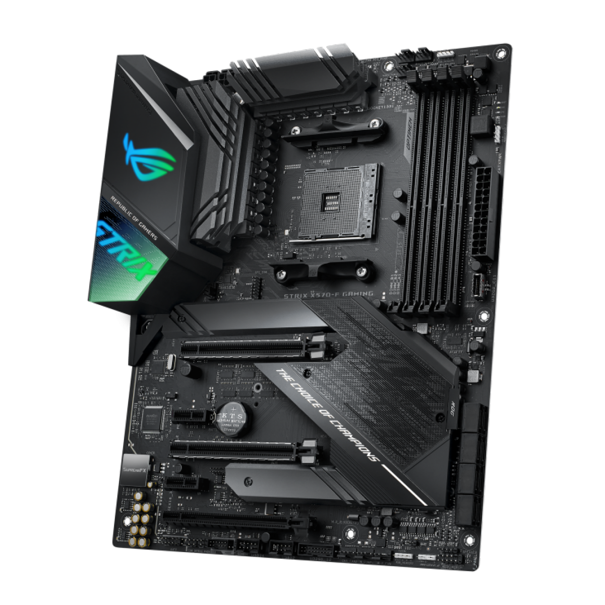 Placa Mãe ASUS ROG STRIX X570-F Gaming, Chipset X570, AMD AM4, ATX, DDR4, 90MB1160-M0EAY0 - IMP