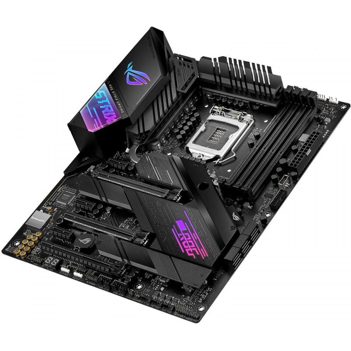 Placa Mãe Asus Rog Strix Z490-E Gaming Wi-Fi, Chipset Z490, Intel LGA 1200, ATX, DDR4