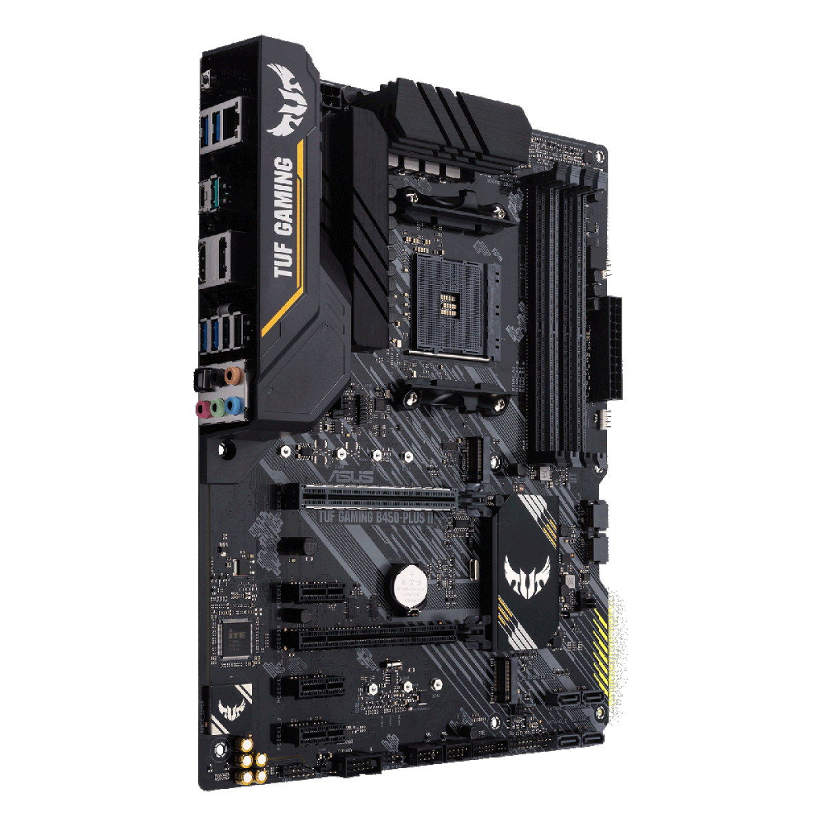 Placa Mãe Asus TUF Gaming B450-Plus II, Chipset B450, AMD AM4, ATX, DDR4, 90MB1650-M0EAY0