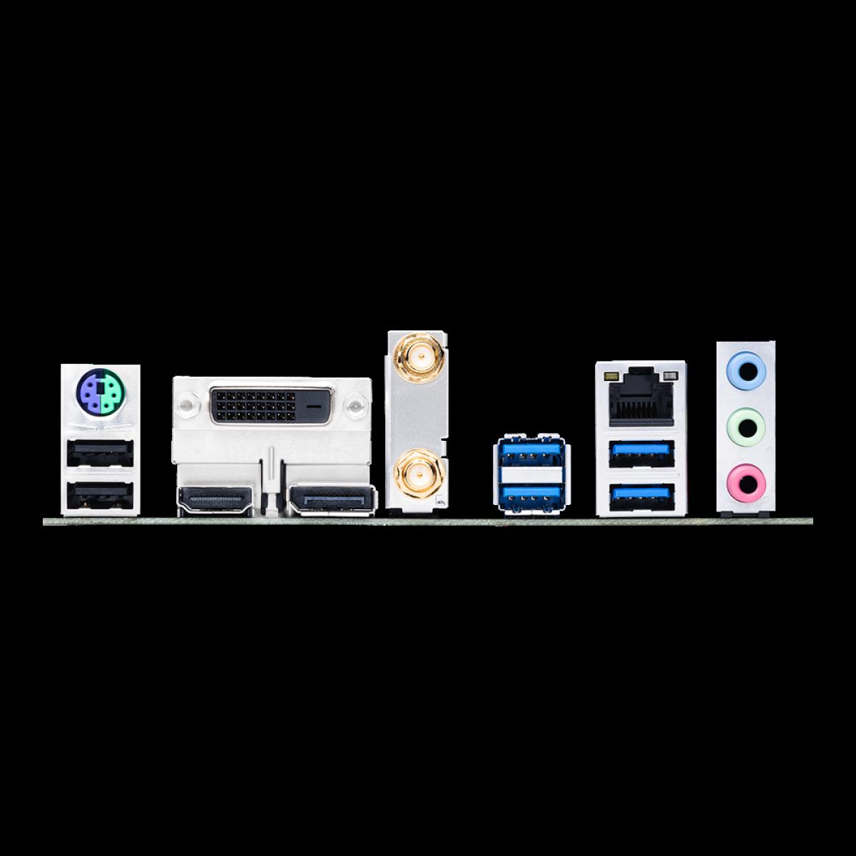 Placa Mãe Asus TUF GAMING B460M-PLUS WI-FI, Chipset B460, Intel LGA 1200, mATX, DDR4, 90MB1440-M0EAY0