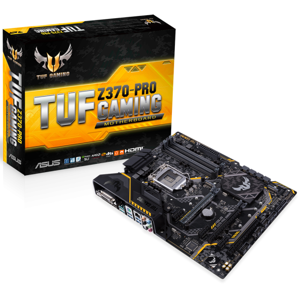 Placa Mãe Asus TUF Z370-PRO GAMING, Chipset Z370, Intel LGA 1151, ATX, DDR4