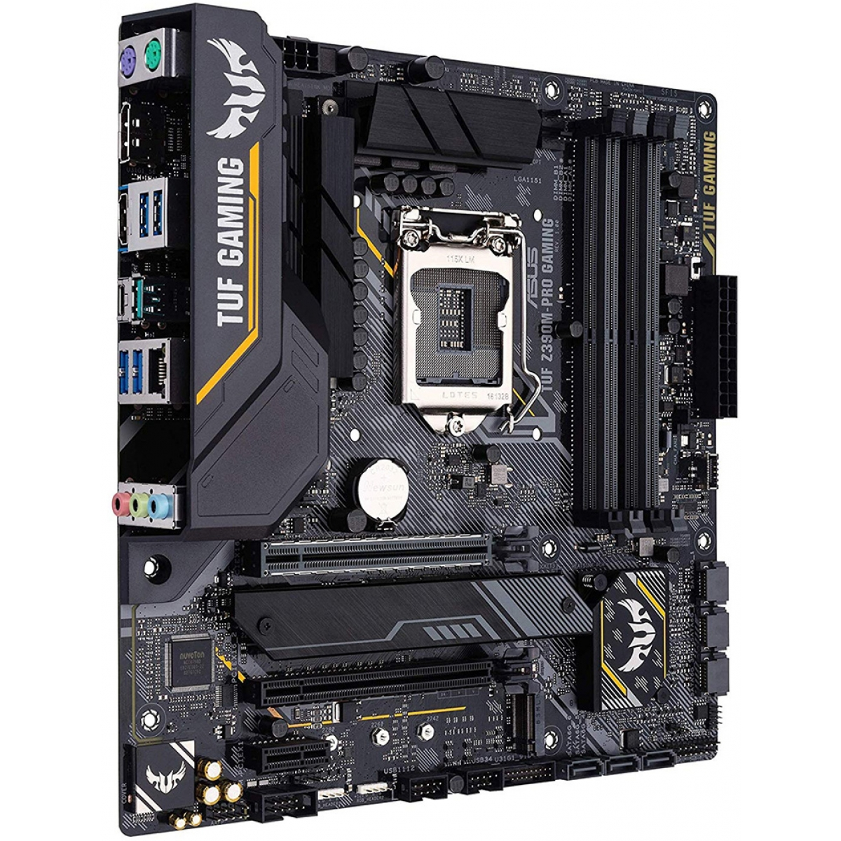 Placa Mãe Asus TUF Z390-M Pro Gaming, Chipset Z390, Intel LGA 1151, mATX, DDR4