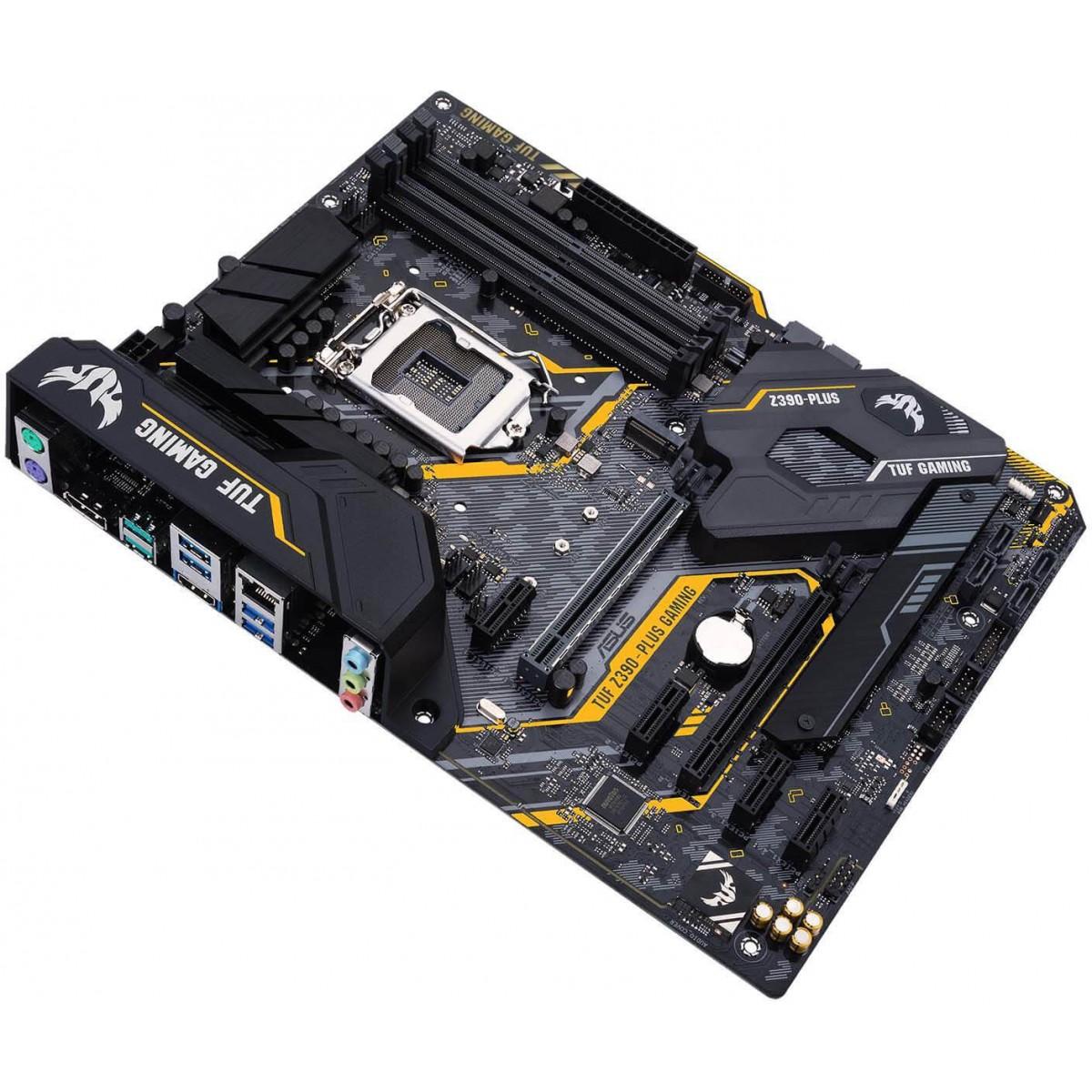 Placa Mãe Asus TUF Z390-Plus Gaming, Chipset Z390, Intel LGA 1151, ATX, DDR4