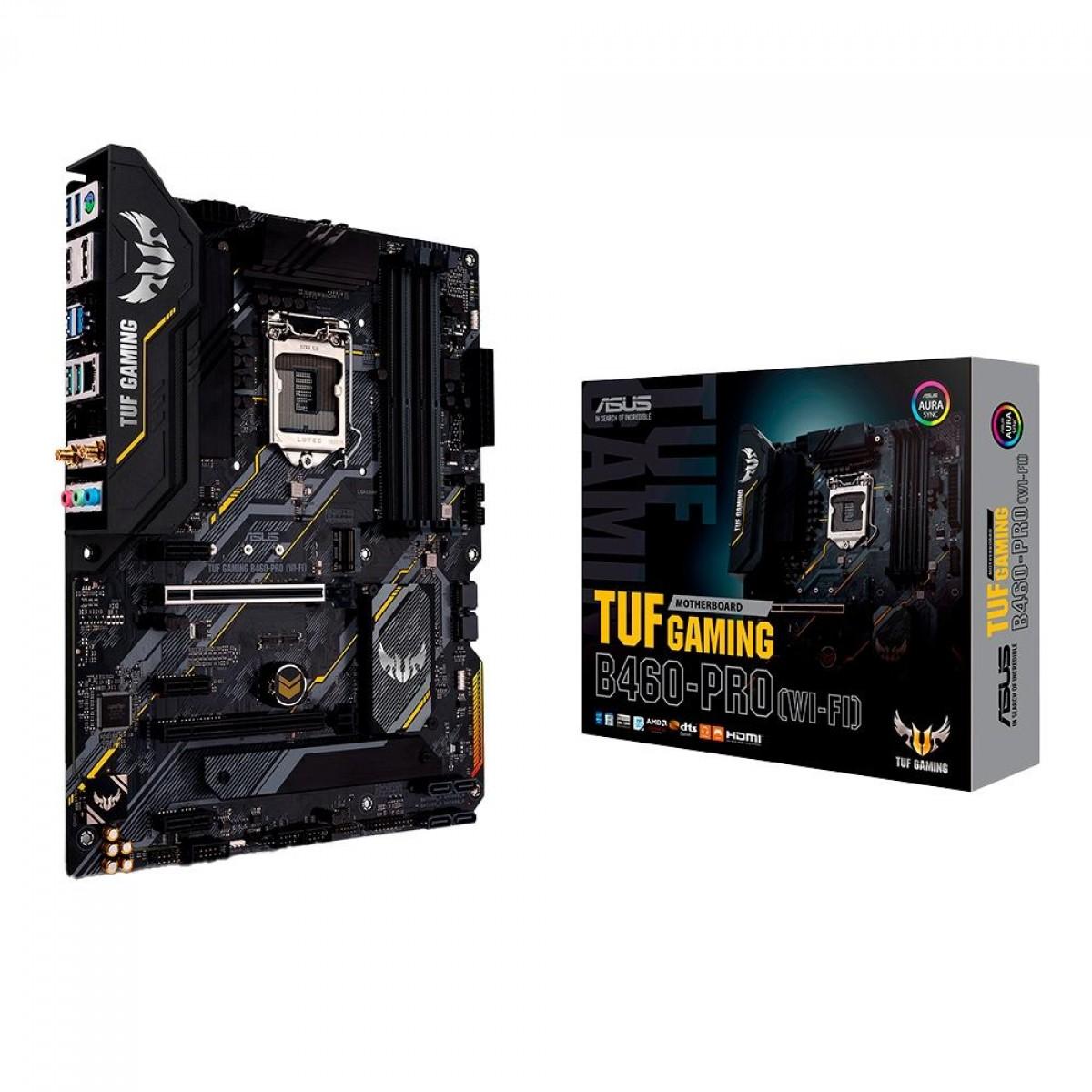 Placa Mãe Asus TUF Z390-Pro Gaming, Chipset Z390, Intel LGA 1151, ATX, DDR4