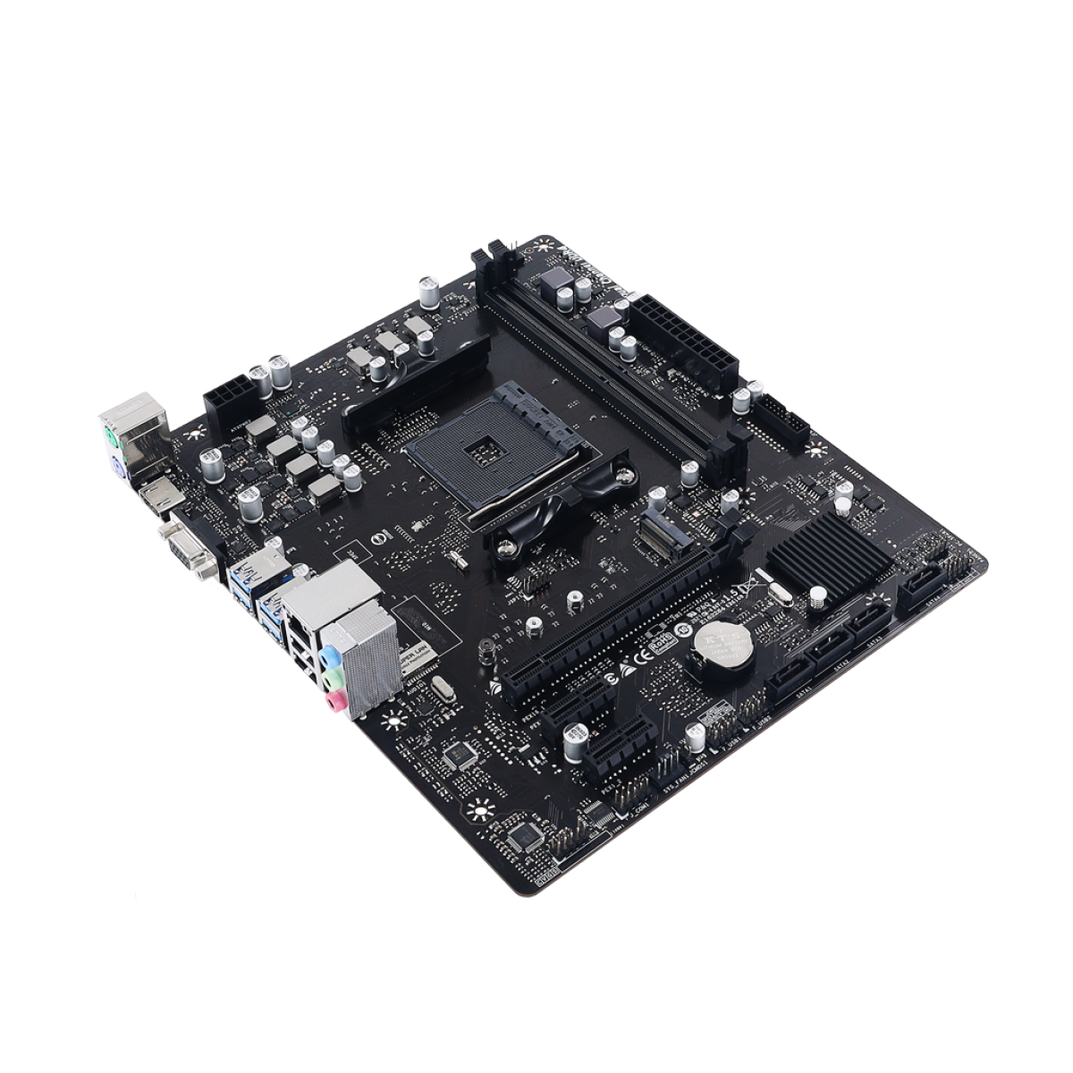 Placa Mãe Biostar A520MH, Chipset A520, AMD AM4, mATX, DDR4
