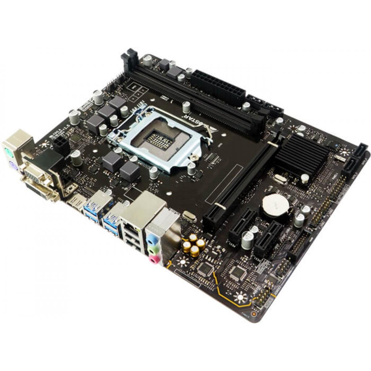 Placa Mãe Biostar B360MHD PRO, Chipset B360, Intel LGA 1151, mATX, DDR4