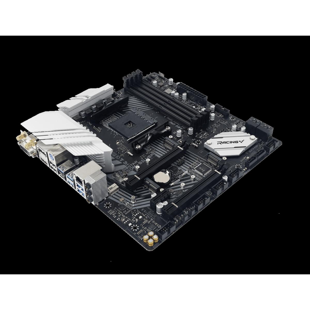 Placa Mãe Biostar B550M-SILVER, Chipset B550, AMD AM4, mATX, DDR4, AB55BM4T-R01-BS212Y