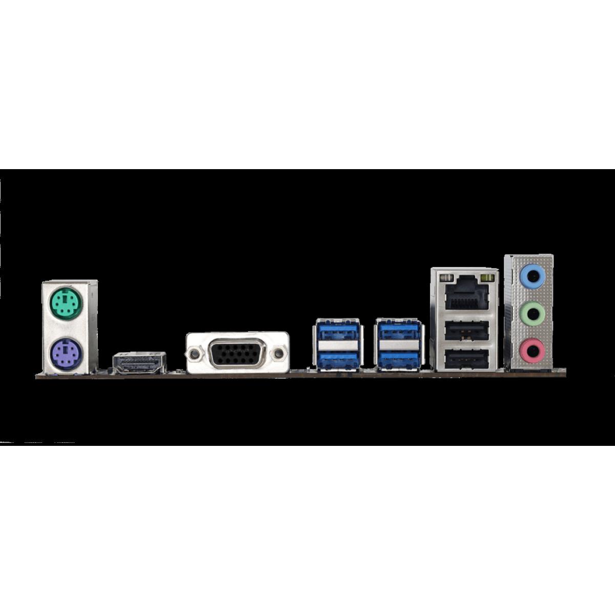 Placa Mãe Biostar B550MH, Chipset B550, AMD AM4, mATX, DDR4, AB55AM4S-R02-BS212X