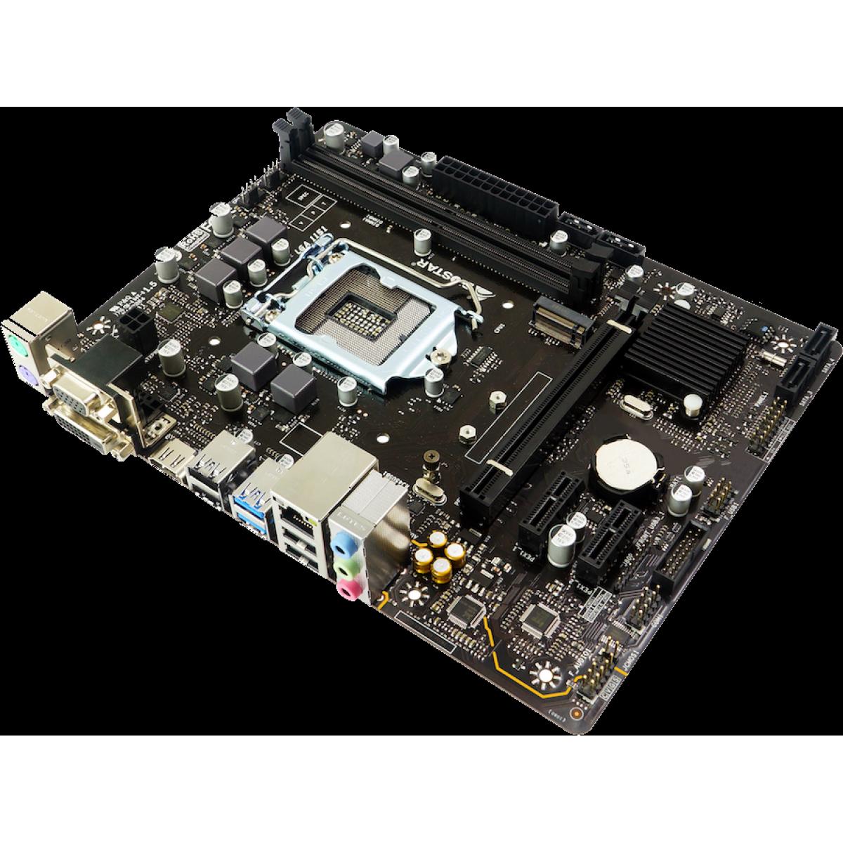 Placa Mãe Biostar H310MHD PRO 2, Chipset H310, Intel LGA 1151, mATX, DDR4