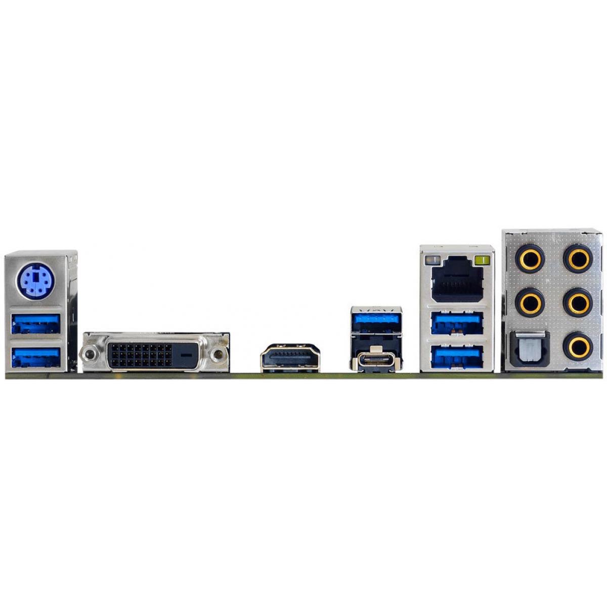 Placa Mãe Biostar Racing B350GTN, Chipset B350, AMD AM4, mITX, DDR4
