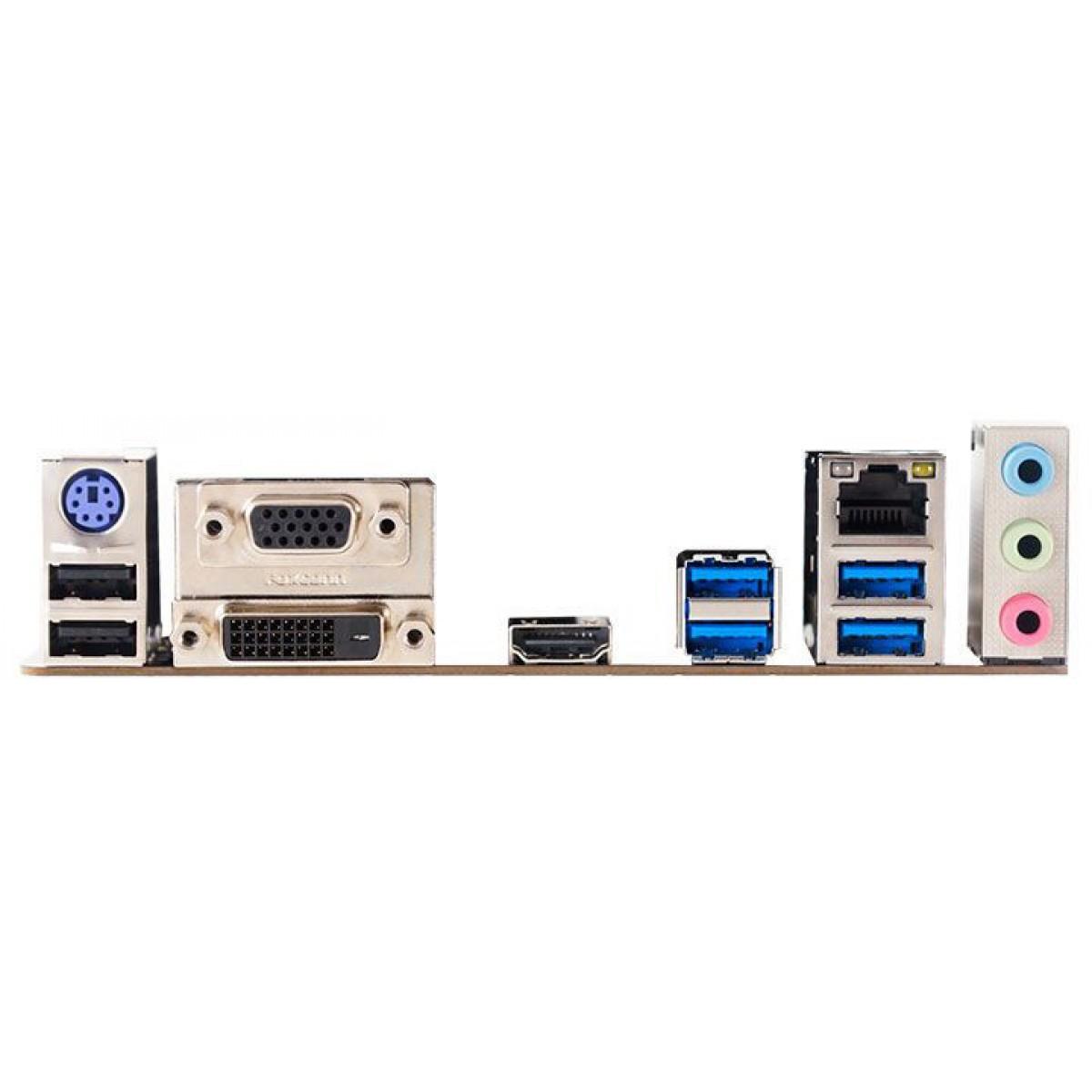 Placa Mãe Biostar Racing B450GT, Chipset B450, AMD AM4, mATX, DDR4