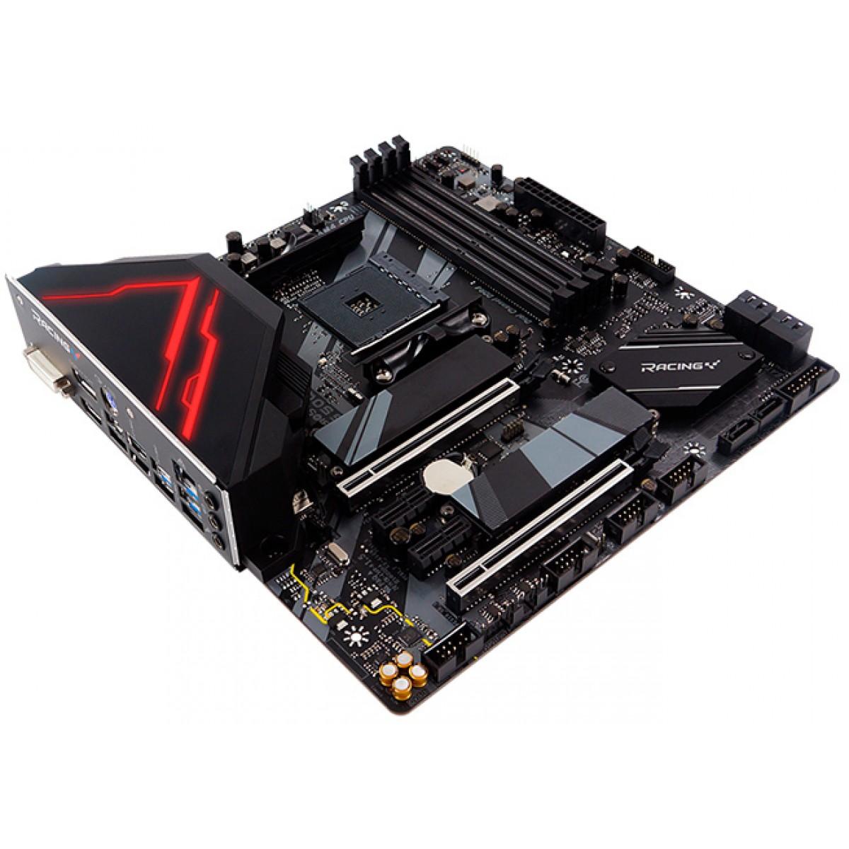 Placa Mãe Biostar Racing  B550GTQ, Chipset B550, AMD AM4, DDR4