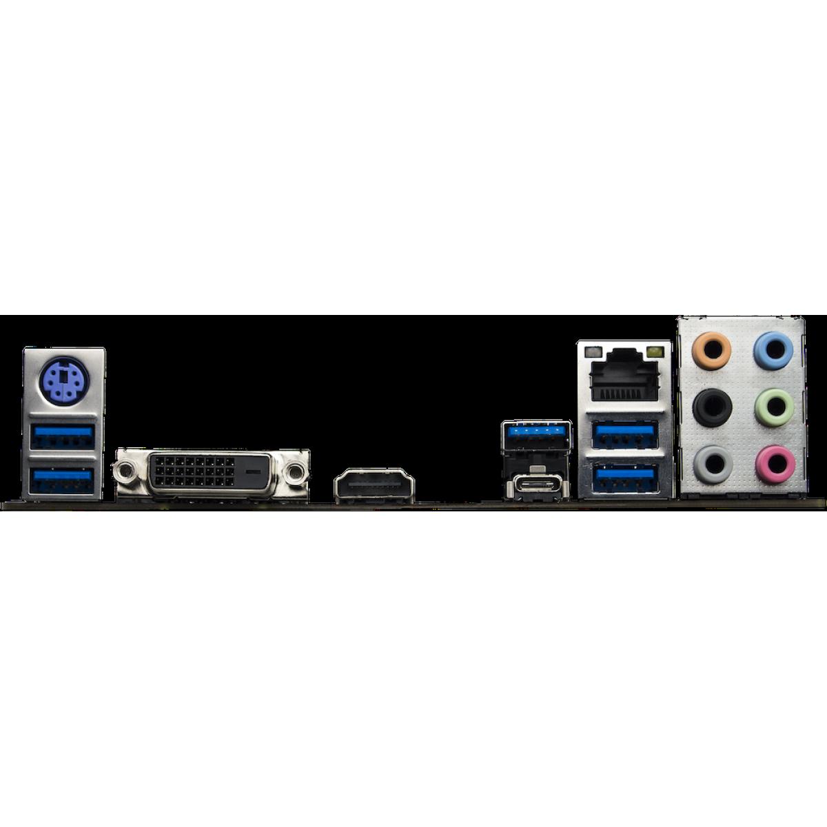 Placa Mãe Biostar Racing X470GTA, Chipset X470, AMD AM4, ATX, DDR4 - Open Box