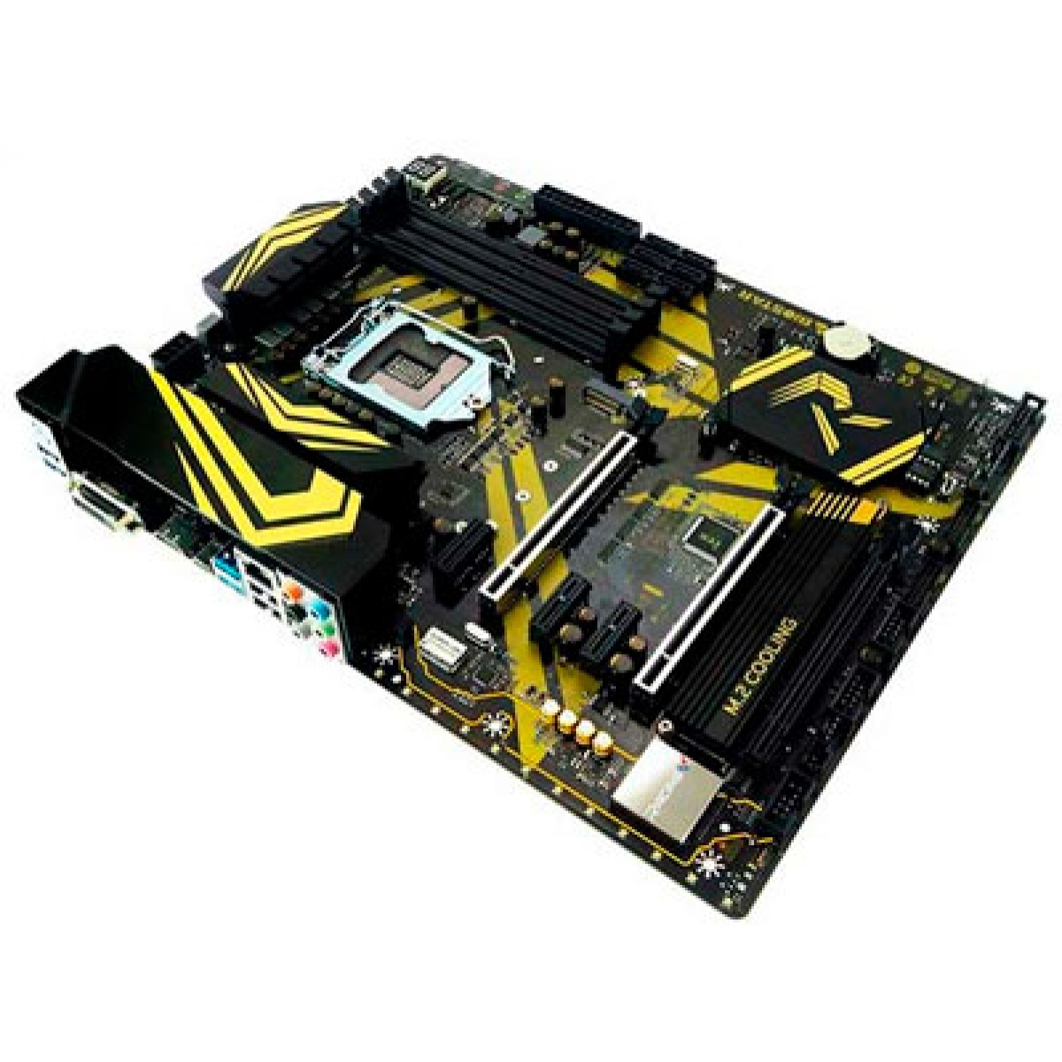 Placa Mãe Biostar Racing Z370GT6 Gaming, Chipset Z370, Intel LGA 1151, ATX, DDR4