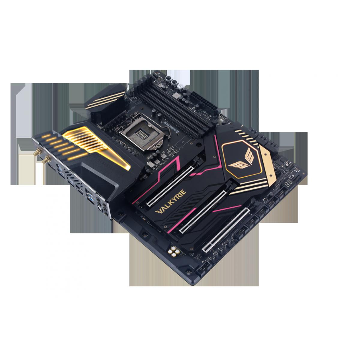 Placa Mãe BIOSTAR Z590 Valkyrie Ver. 5.0, Chipset Intel Z590, Socket 1200, ATX, DDR4