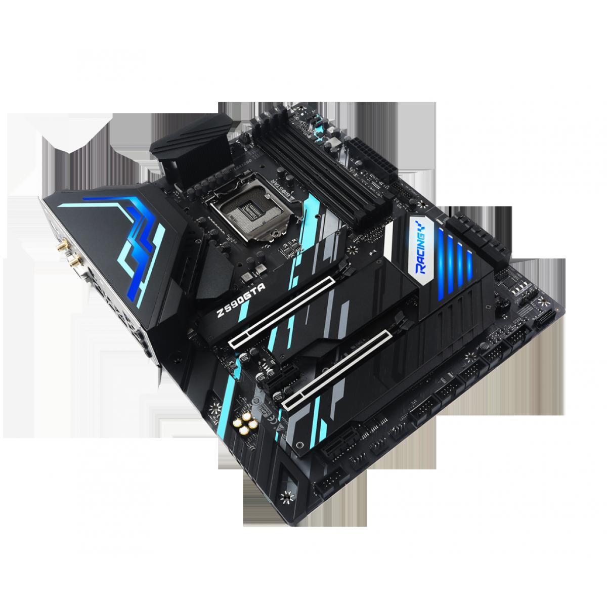 Placa Mãe BIOSTAR Z590GTA Ver. 5.0, Chipset Intel Z590, Socket 1200, ATX, DDR4
