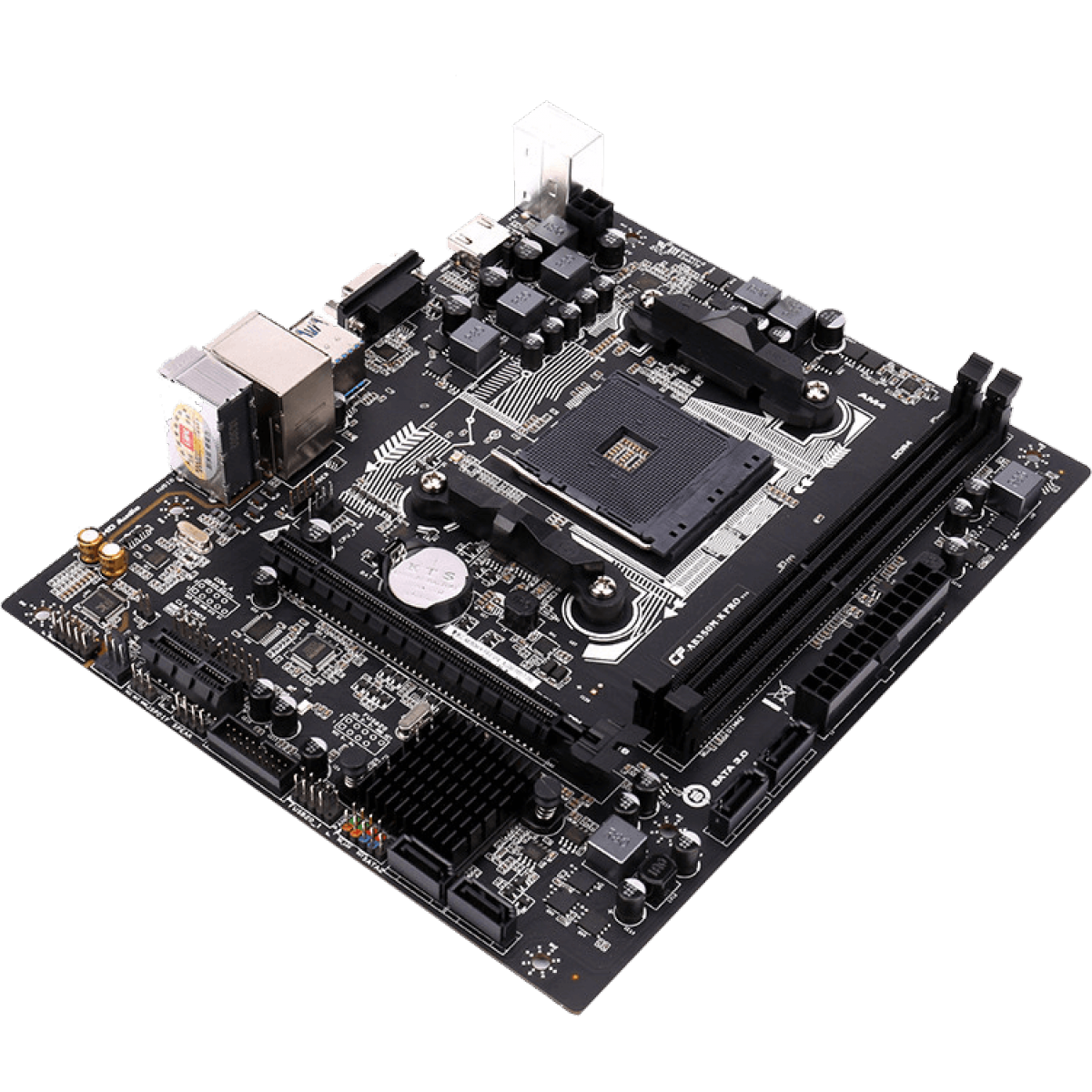 Placa Mãe Colorful AB350M-K PRO V14, Chipset B350, AMD AM4, MATX, DDR4 - Open Box