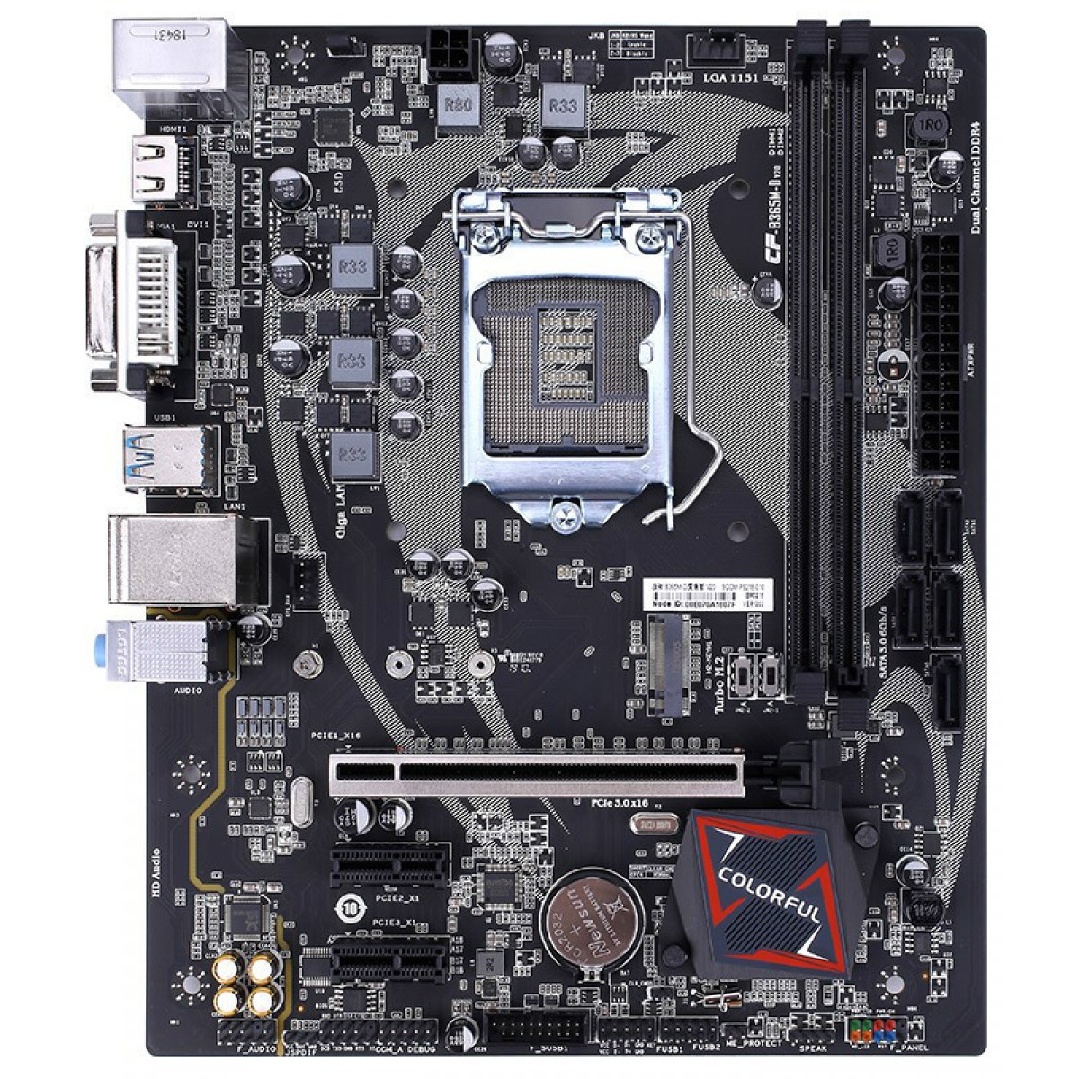 Placa Mãe Colorful BATTLE-AX B365M-D V20, Chipset B365, Intel LGA 1151, mAXT, DDR4, 110510204301