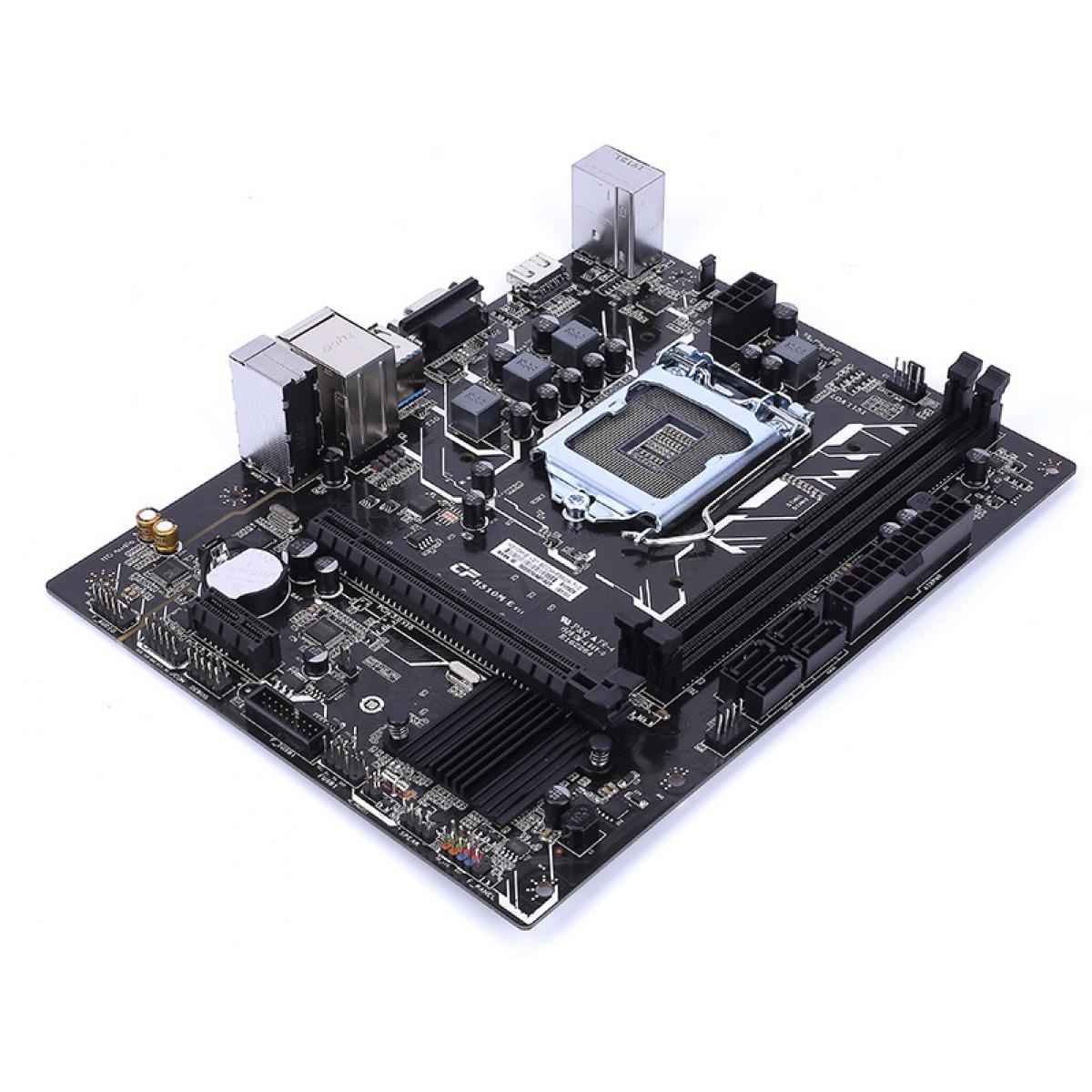 Placa Mãe Colorful H310M-E V21, Chipset H310, Intel LGA 1151, mATX, DDR4