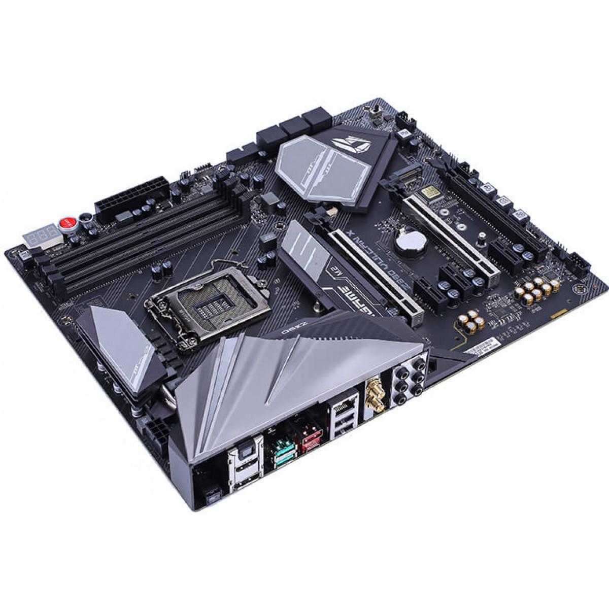 Placa Mãe Colorful iGame Z390 Vulcan X V20, Chipset Z390, Intel LGA 1151, ATX, DDR4