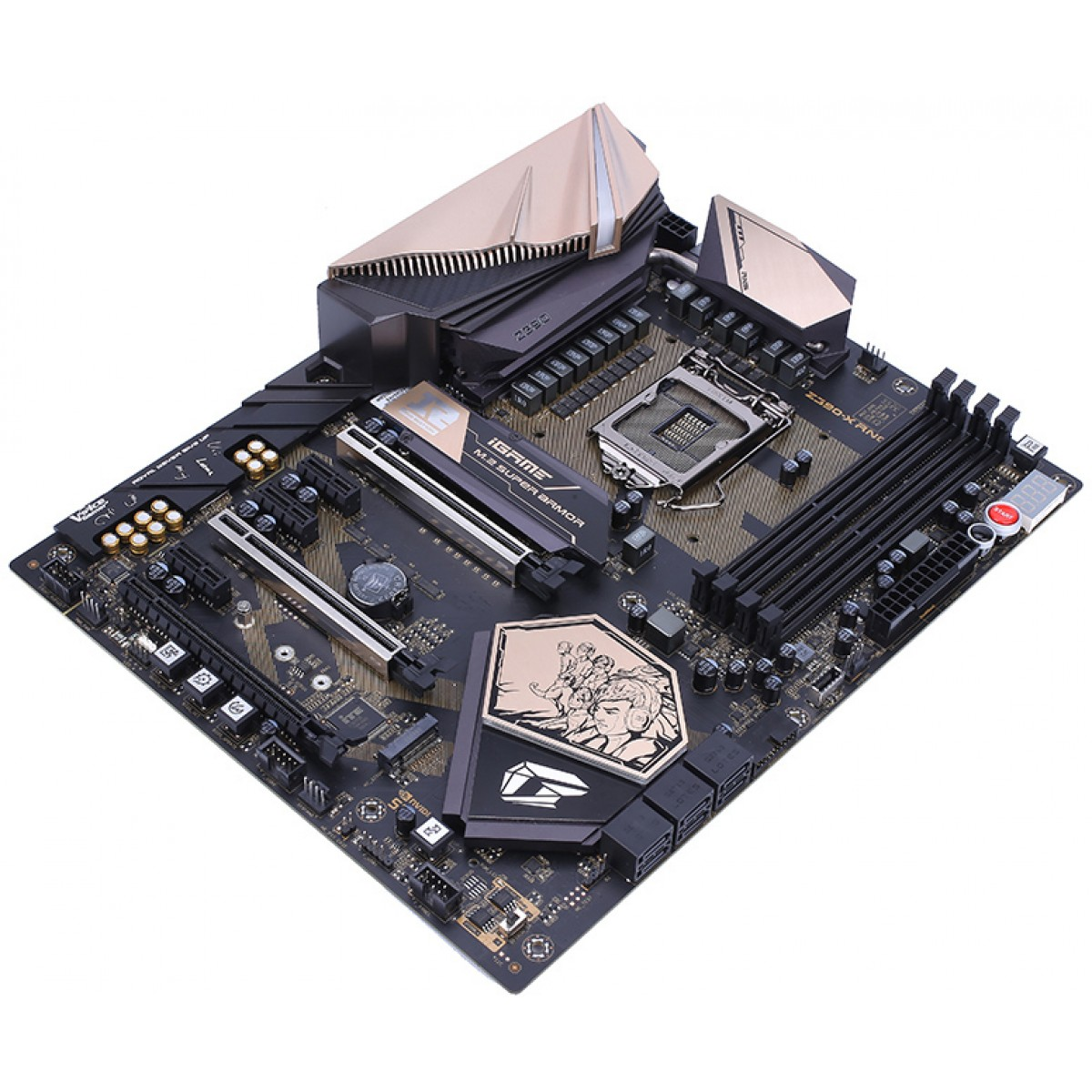 Placa Mãe Colorful iGame Z390-X RNG Edition V20, Chipset Z390, Intel LGA 1151, ATX, DDR4
