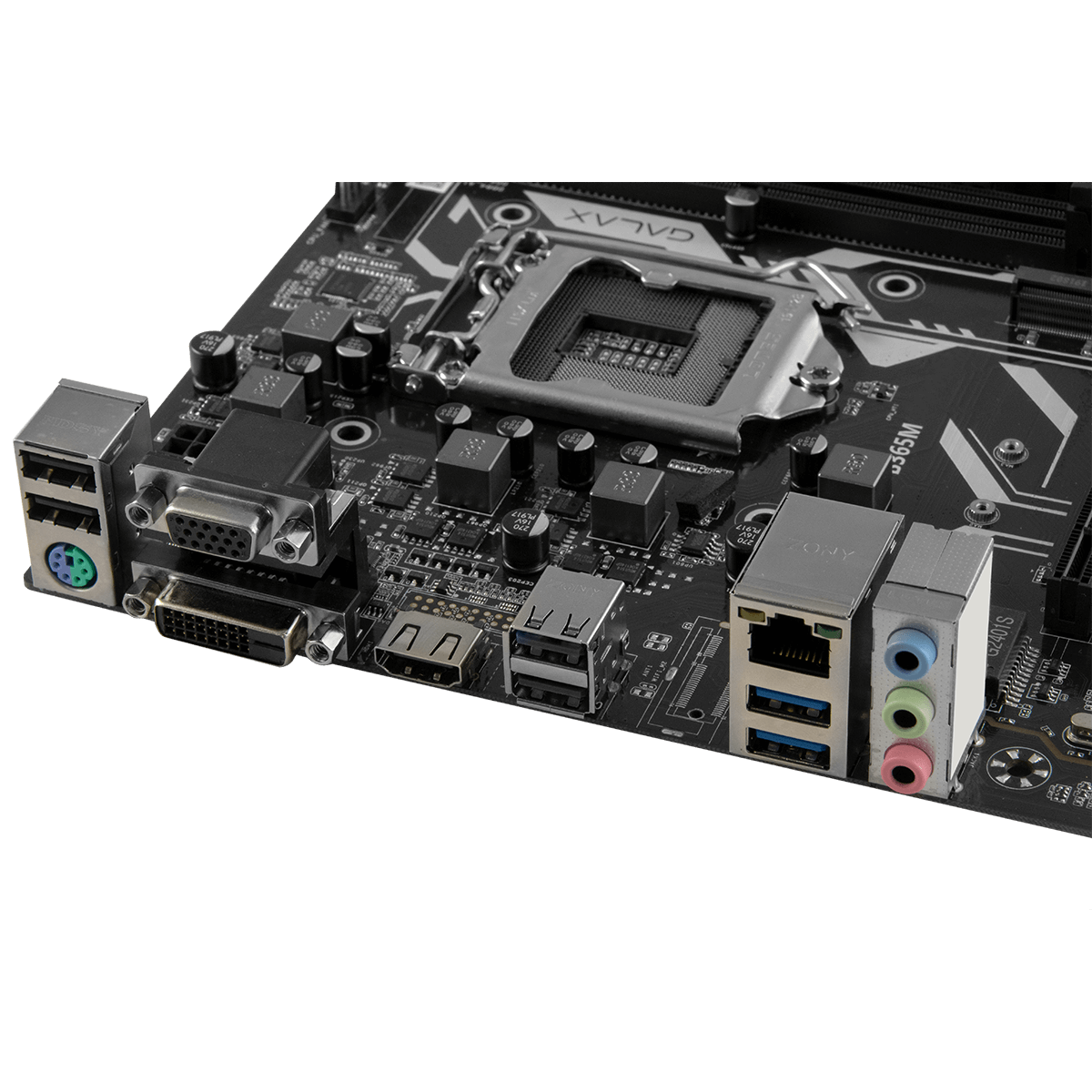 Placa Mãe Galax B365M, Chipset B365, Intel LGA 1151, mATX, DDR4, IB365MAGCHJ1CW