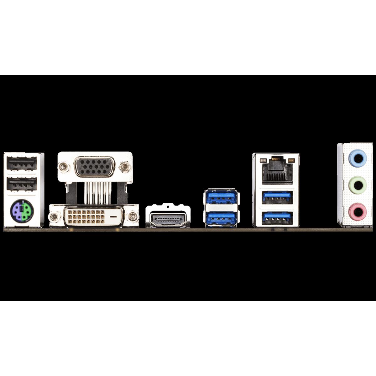 Placa Mãe Gigabyte B460M DS3H, Chipset B460, Intel LGA 1200, mATX, DDR4, 9MB46MS3H-00-10