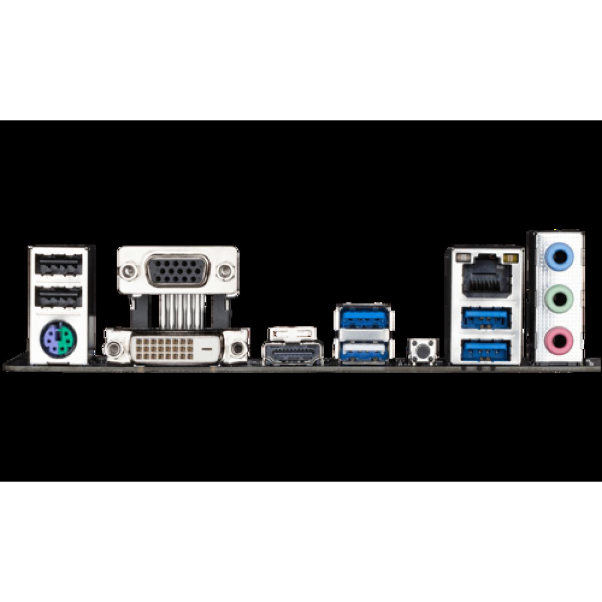 Placa Mãe Gigabyte B550M Gaming, Chipset B550, AMD AM4, mATX, DDR4