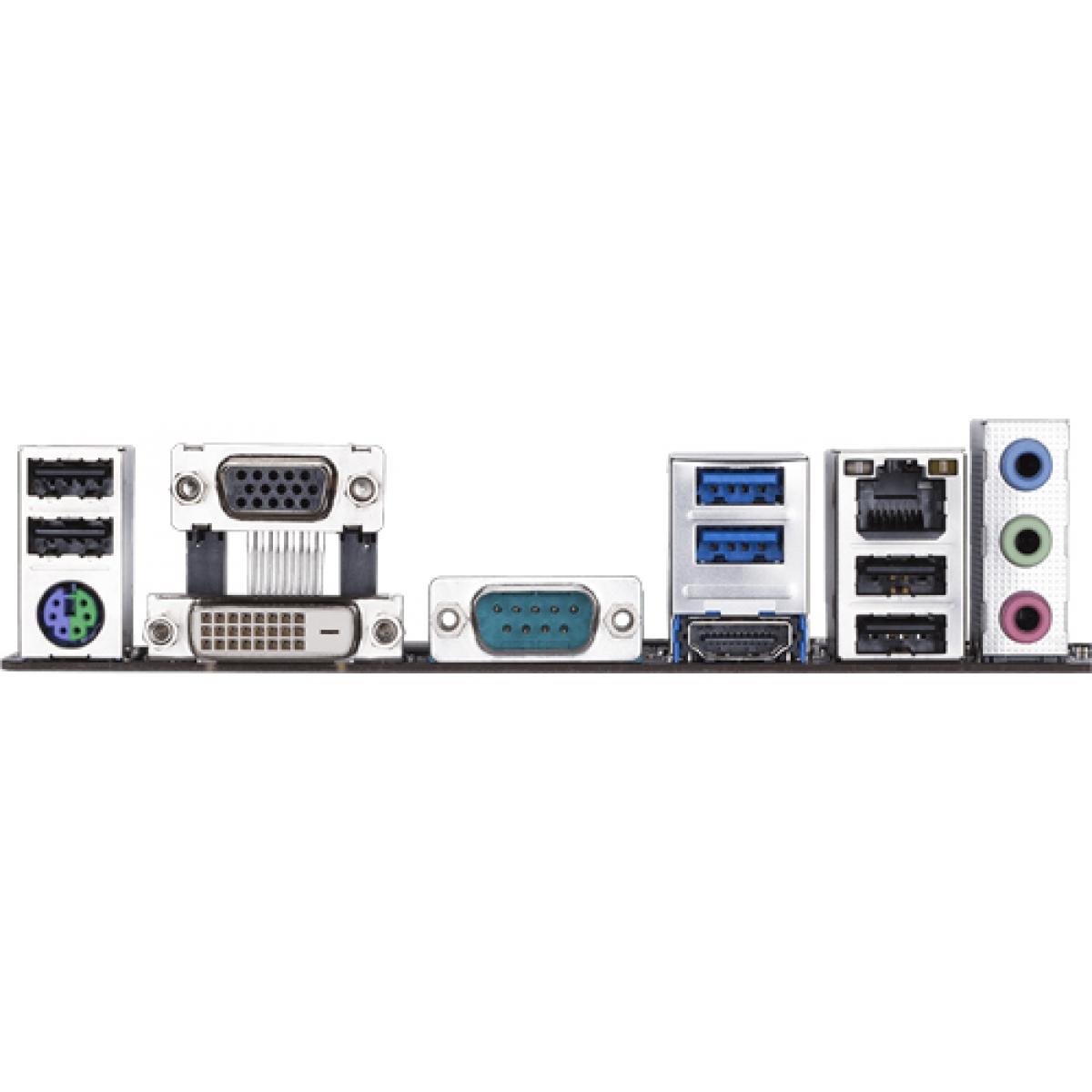 Placa Mãe Gigabyte H310M S2P, Chipset H310, Intel LGA 1151, mATX, DDR4